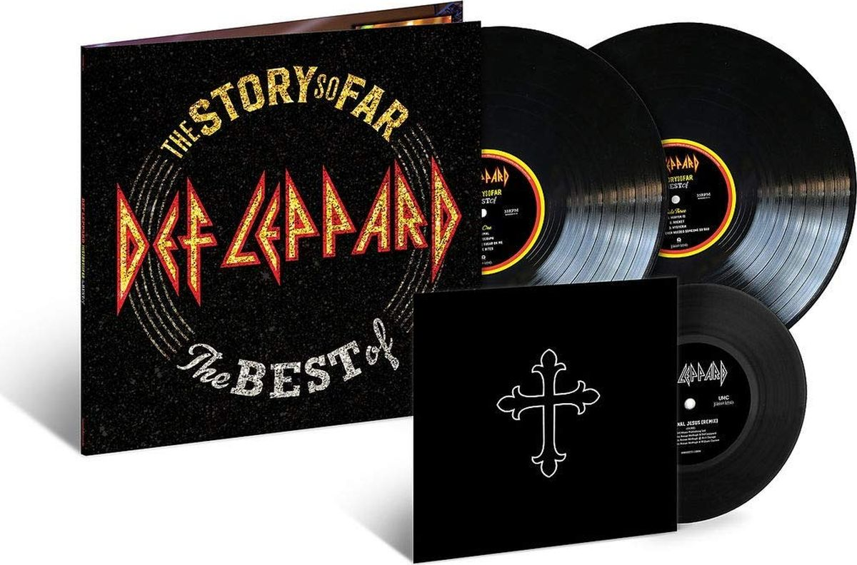 Def Leppard Def Leppard. The Story So Far… (3 LP) supertramp the story so far