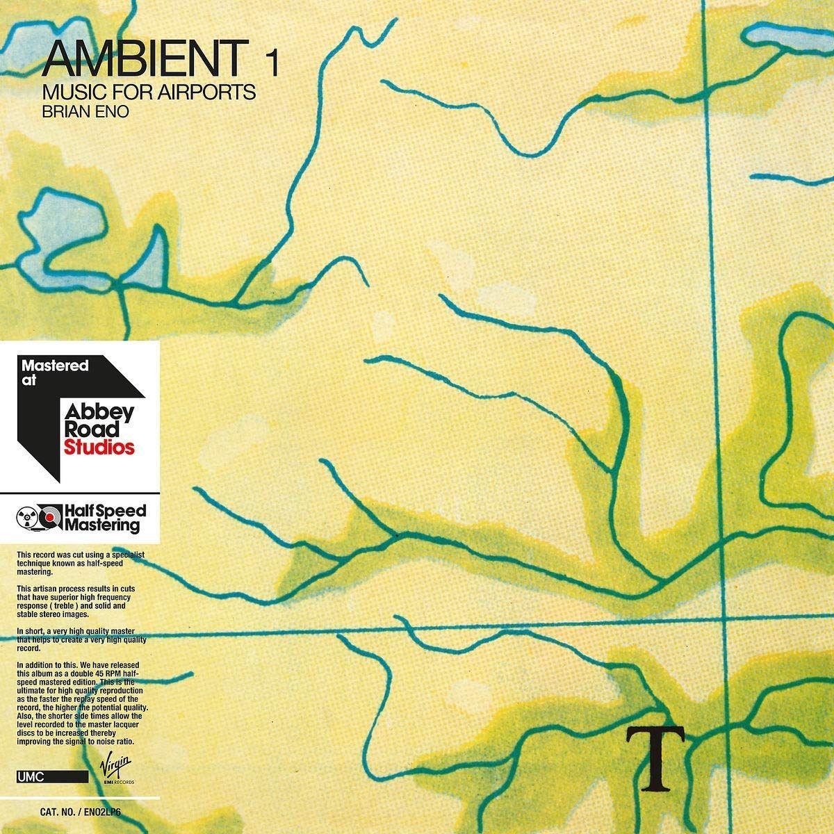 Брайан Ино Brian Eno. Ambient 1. Music For Airports (2 LP) nhd 2 1
