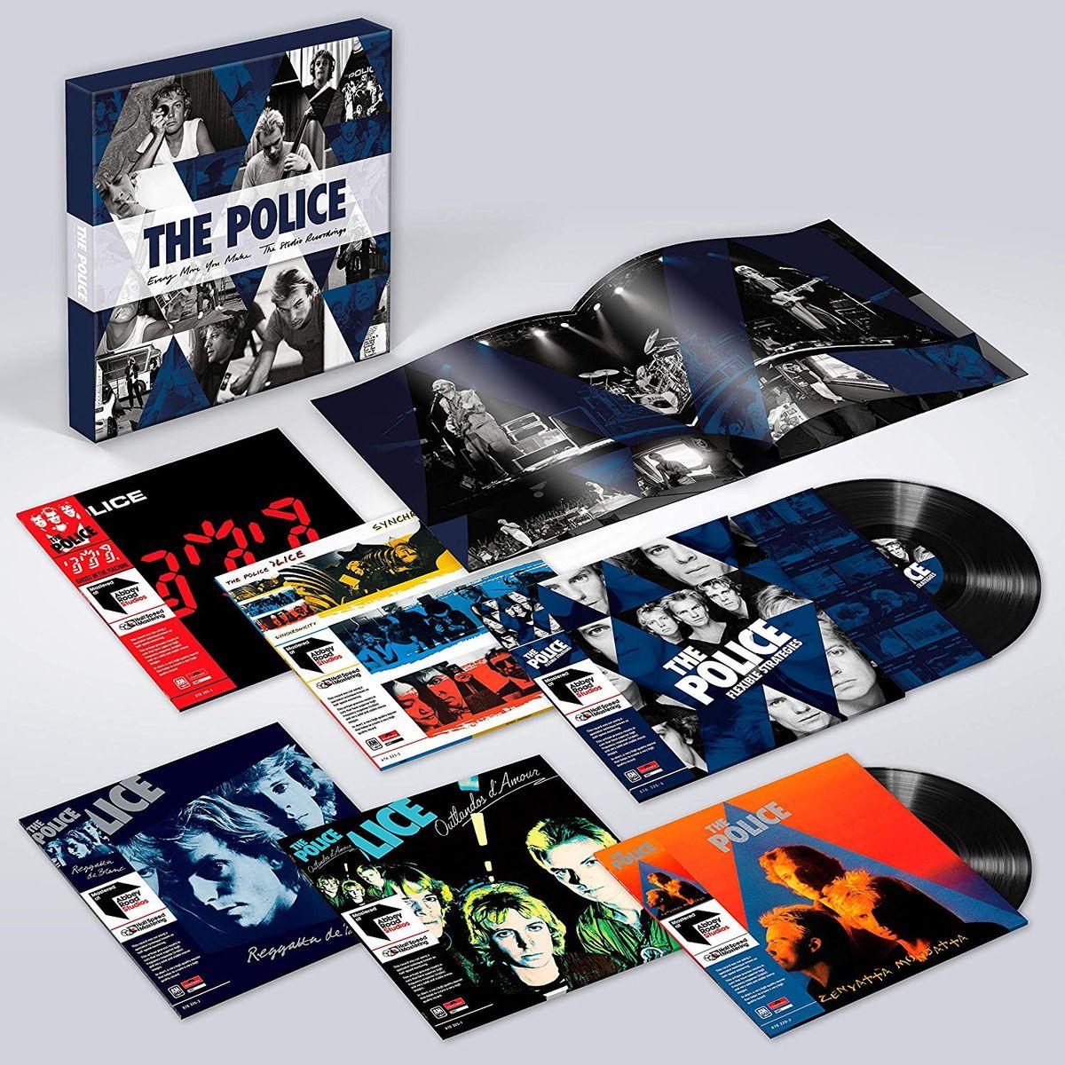 The Police The Police. The Studio Recordings (6 LP) new arcade jamma 60 in 1 kit w 2 joysticks 4 8 way