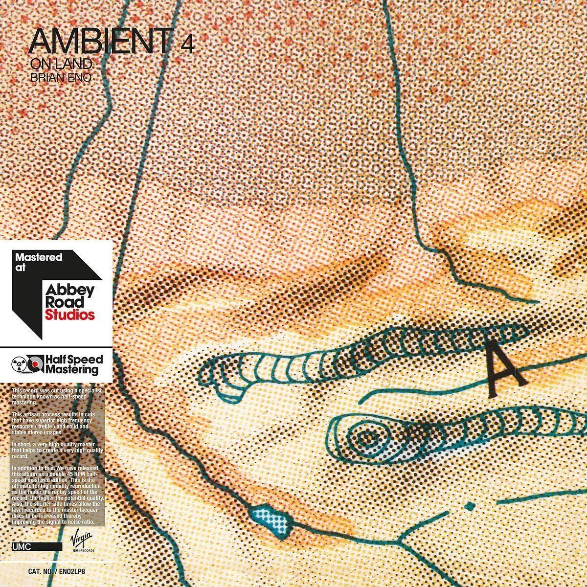 Брайан Ино Brian Eno. Ambient 4. On Land (2 LP) цена