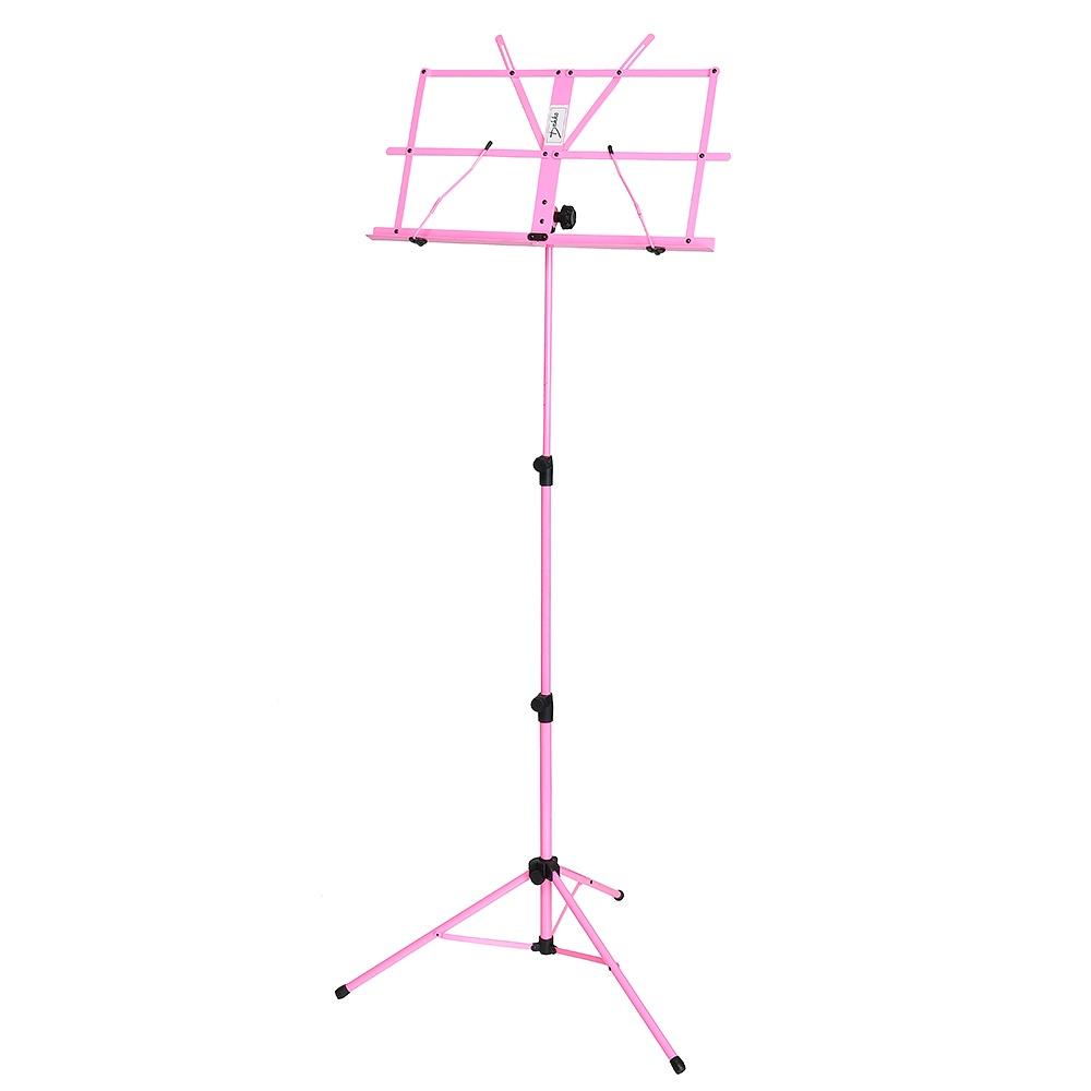 DEKKO JR-201PK - Пюпитр (подставка для нот) металлический РОЗОВЫЙ пюпитр