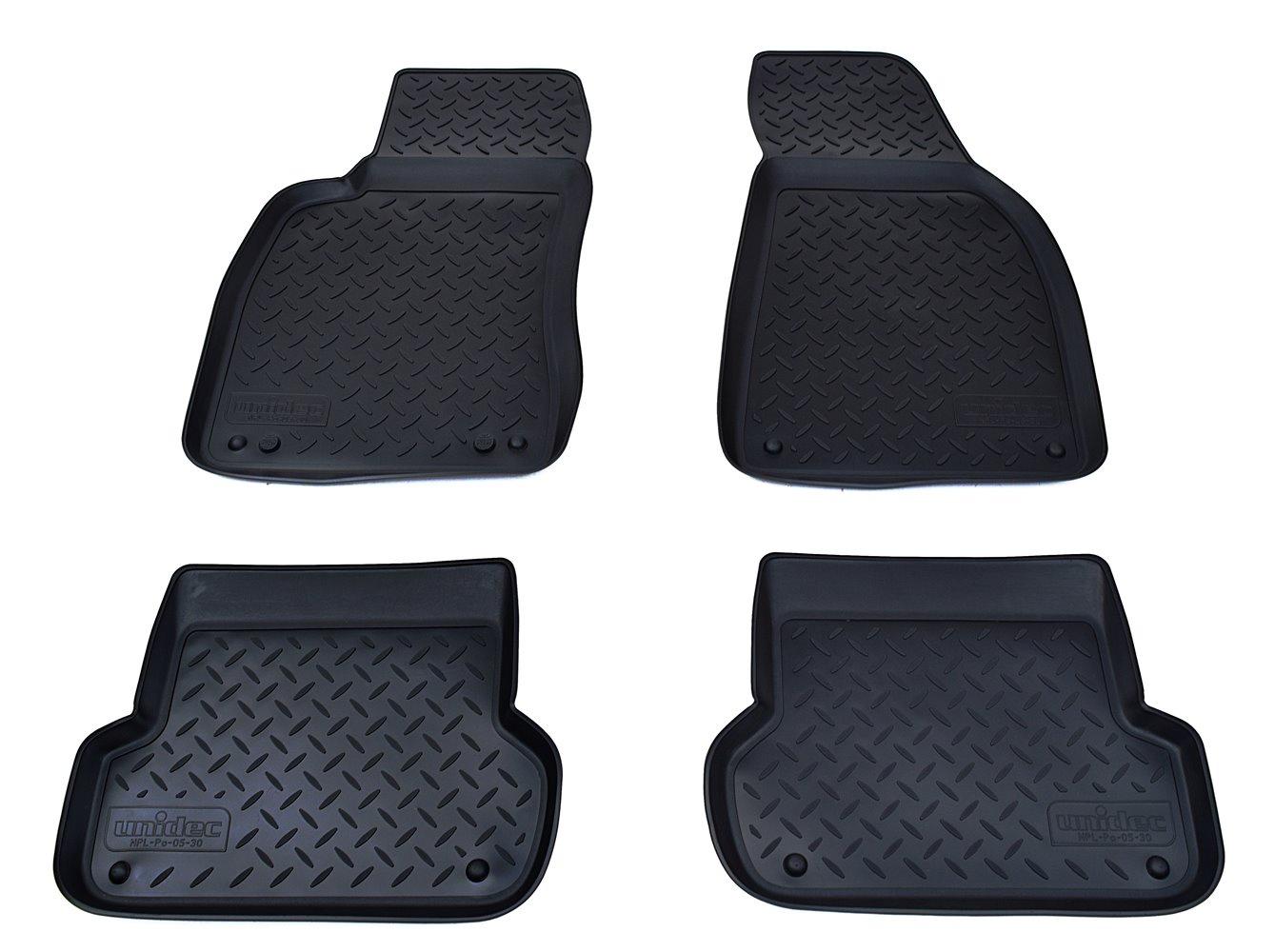 купить Коврики в салон автомобиля Norplast для Audi A4 B6:8E/B7:8E 2001-2007, NPL-Po-05-30, черный онлайн
