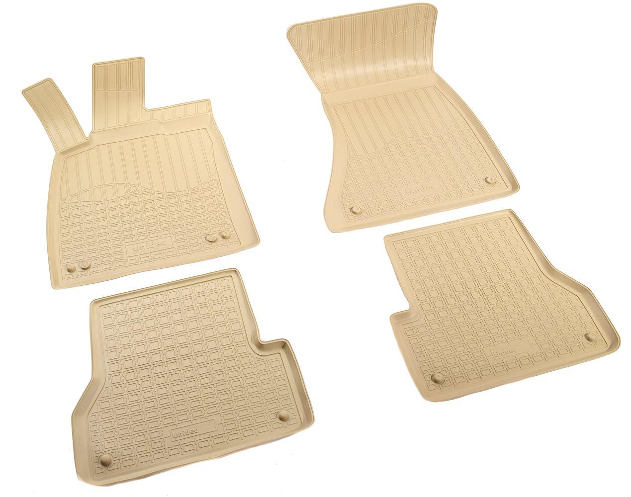 Коврики в салон автомобиля Norplast для Audi A6 4G:C7 2011, NPA10-C05-400-B, бежевый для автомобиля audi