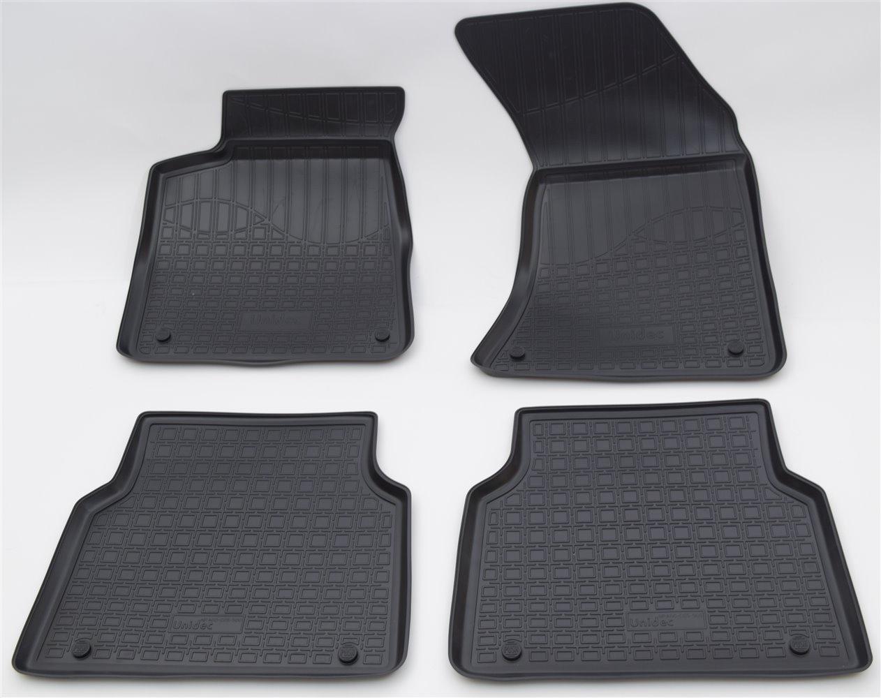 Коврики в салон автомобиля Norplast для Audi A8 D4:4H 2010, NPA00-C05-500, черный ограничитель ekf opv d4