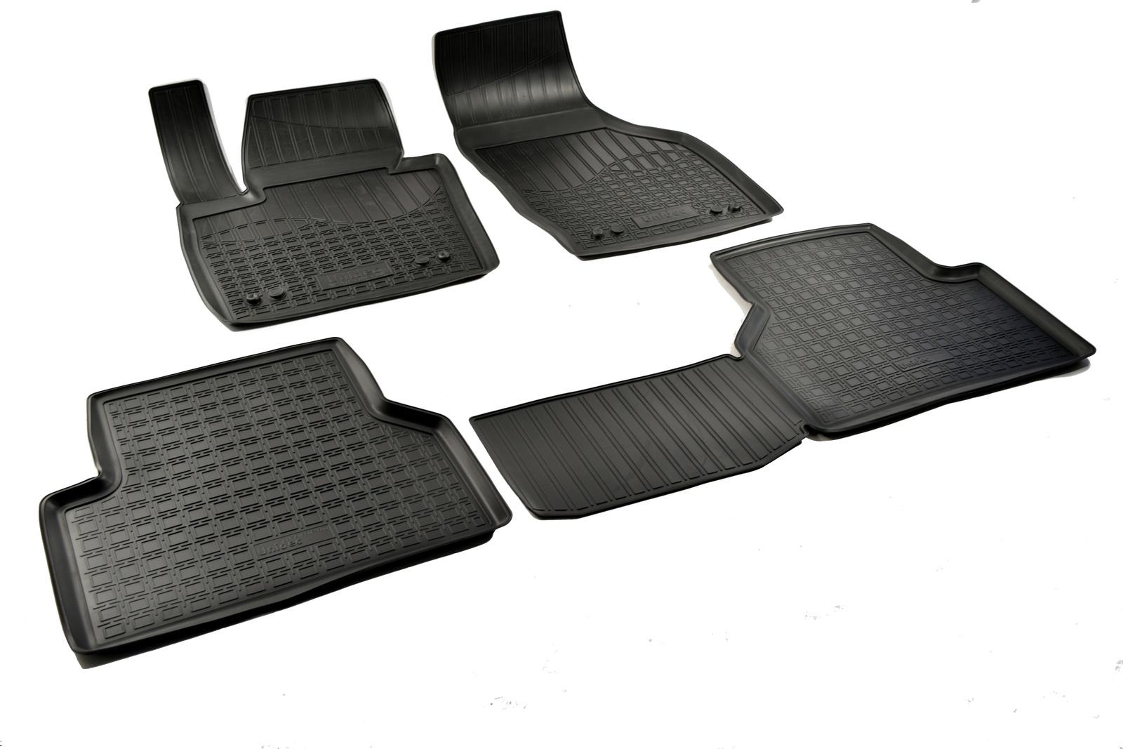 Коврики в салон автомобиля Norplast для Audi Q3 8U 2011, NPA11-C05-600, черный цены онлайн