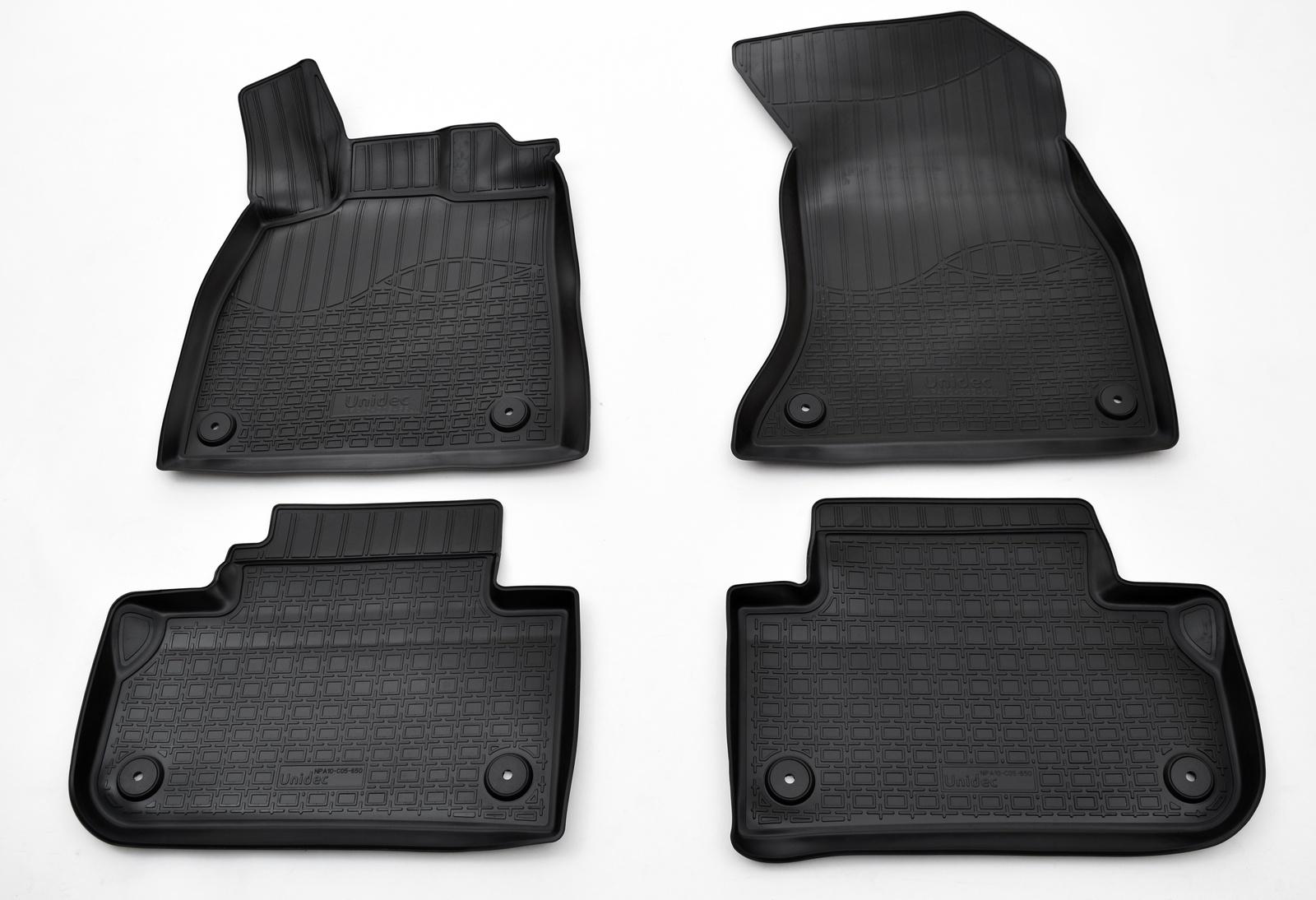 Коврики в салон автомобиля Norplast для Audi Q5 II 2016, NPA10-C05-650, черный для автомобиля audi
