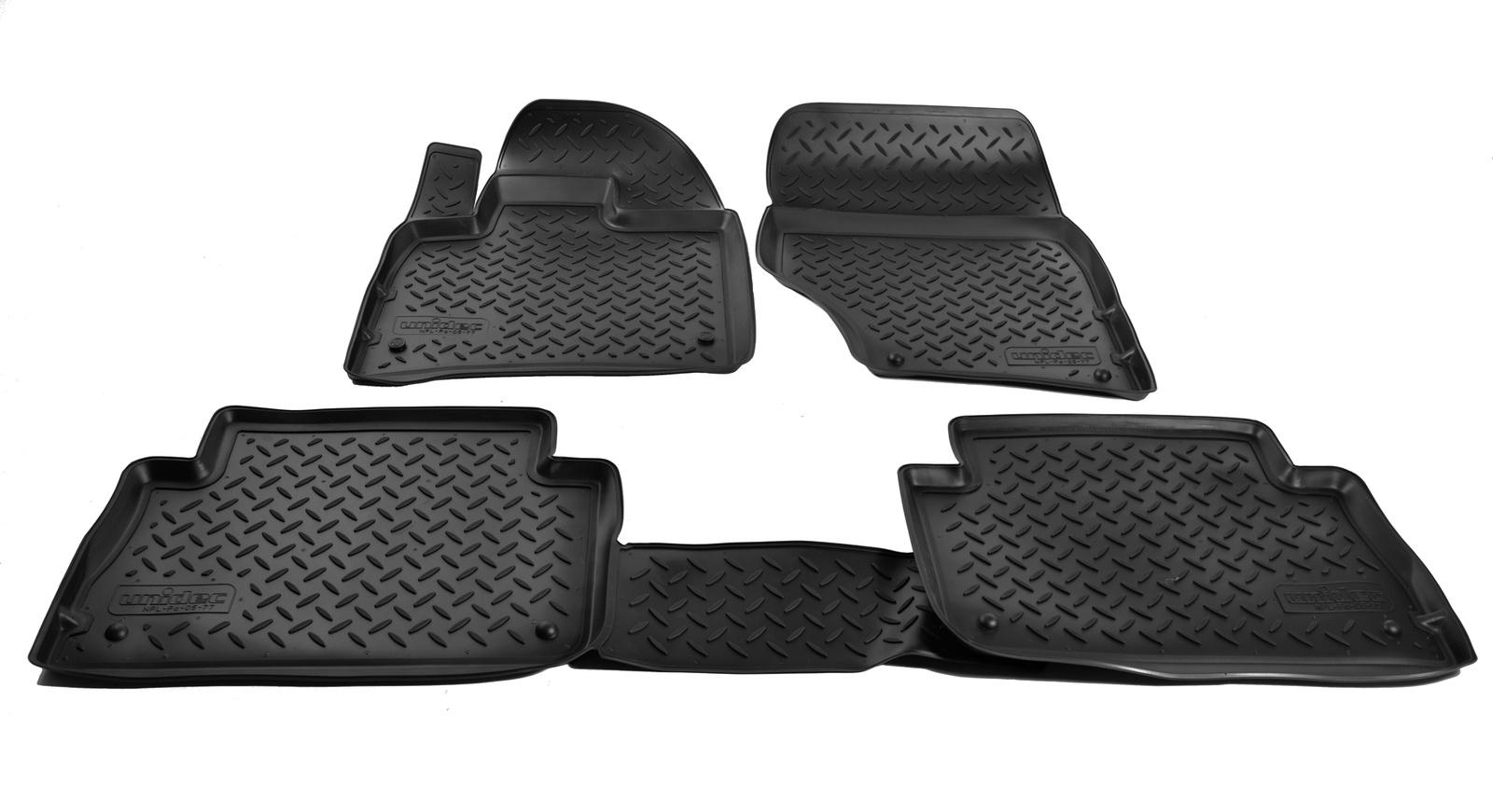 Коврики в салон автомобиля Norplast для Audi Q7 4LB 2005, NPL-Po-05-77, черный комплект электрики westfalia audi q7 2006 305500300113