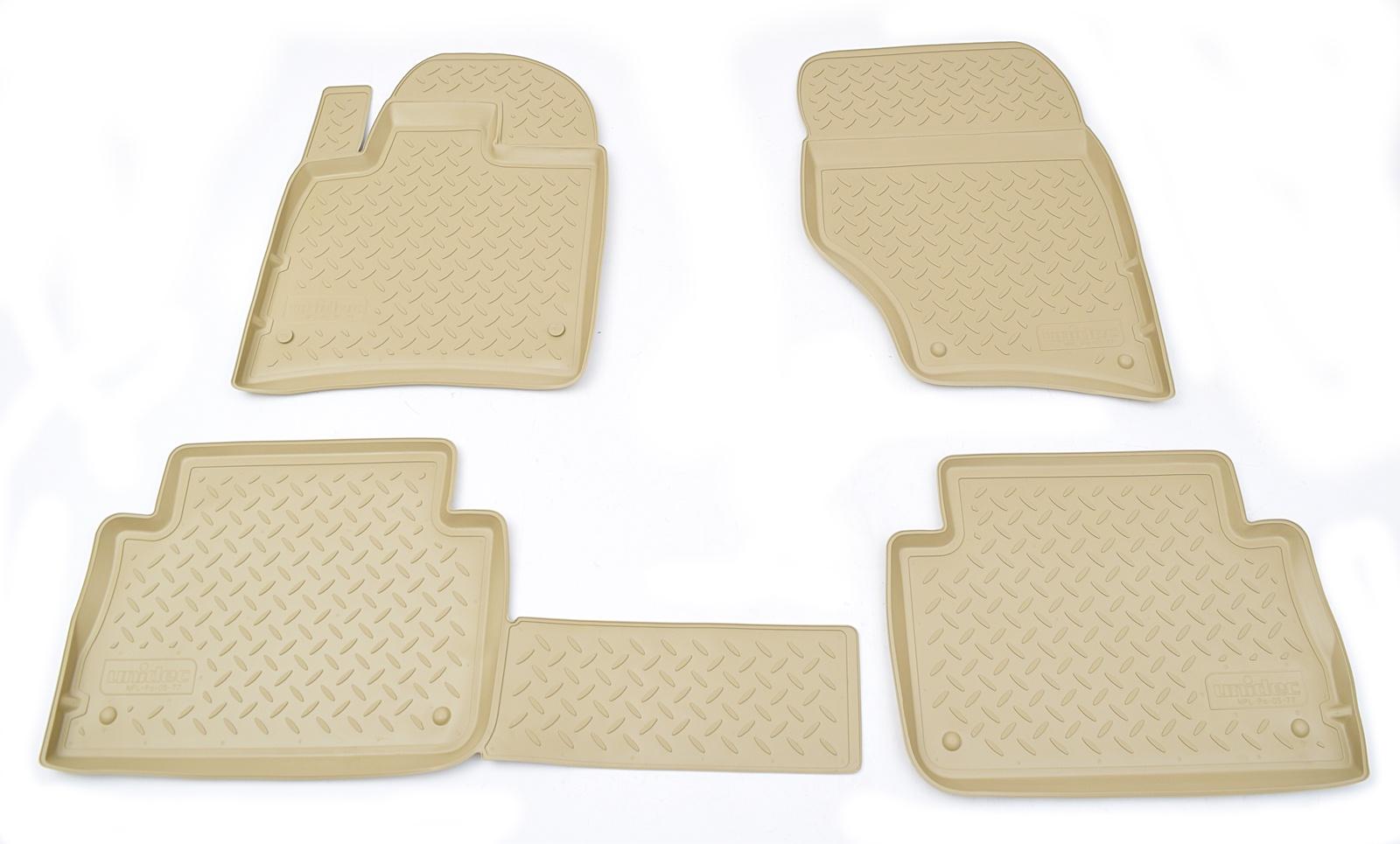 Коврики в салон автомобиля Norplast для Audi Q7 4LB 2005, NPL-Po-05-77-B, бежевый цены