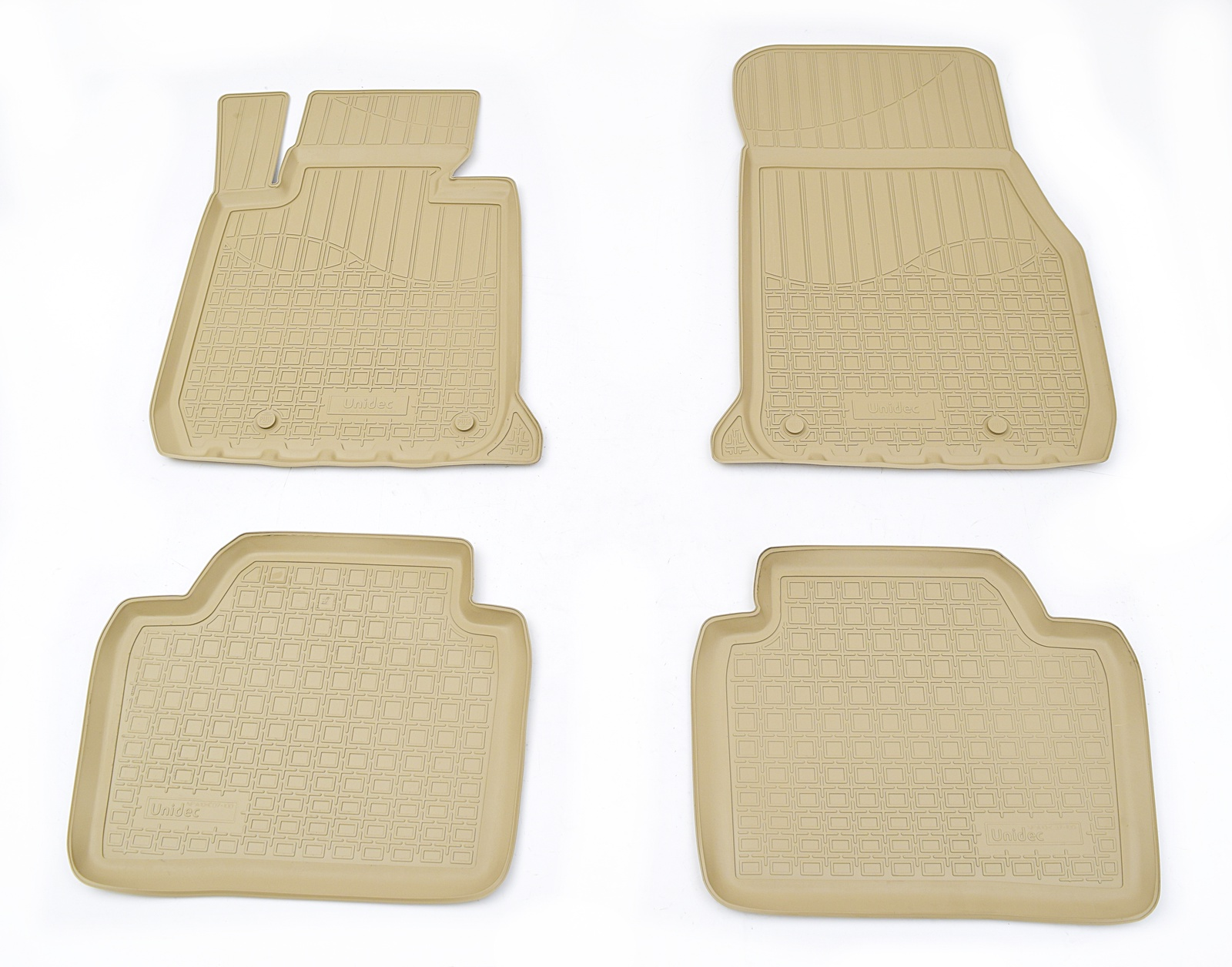 Коврики в салон автомобиля Norplast для BMW 3 F30/F31 2011, NPA10-C07-100-B, бежевый