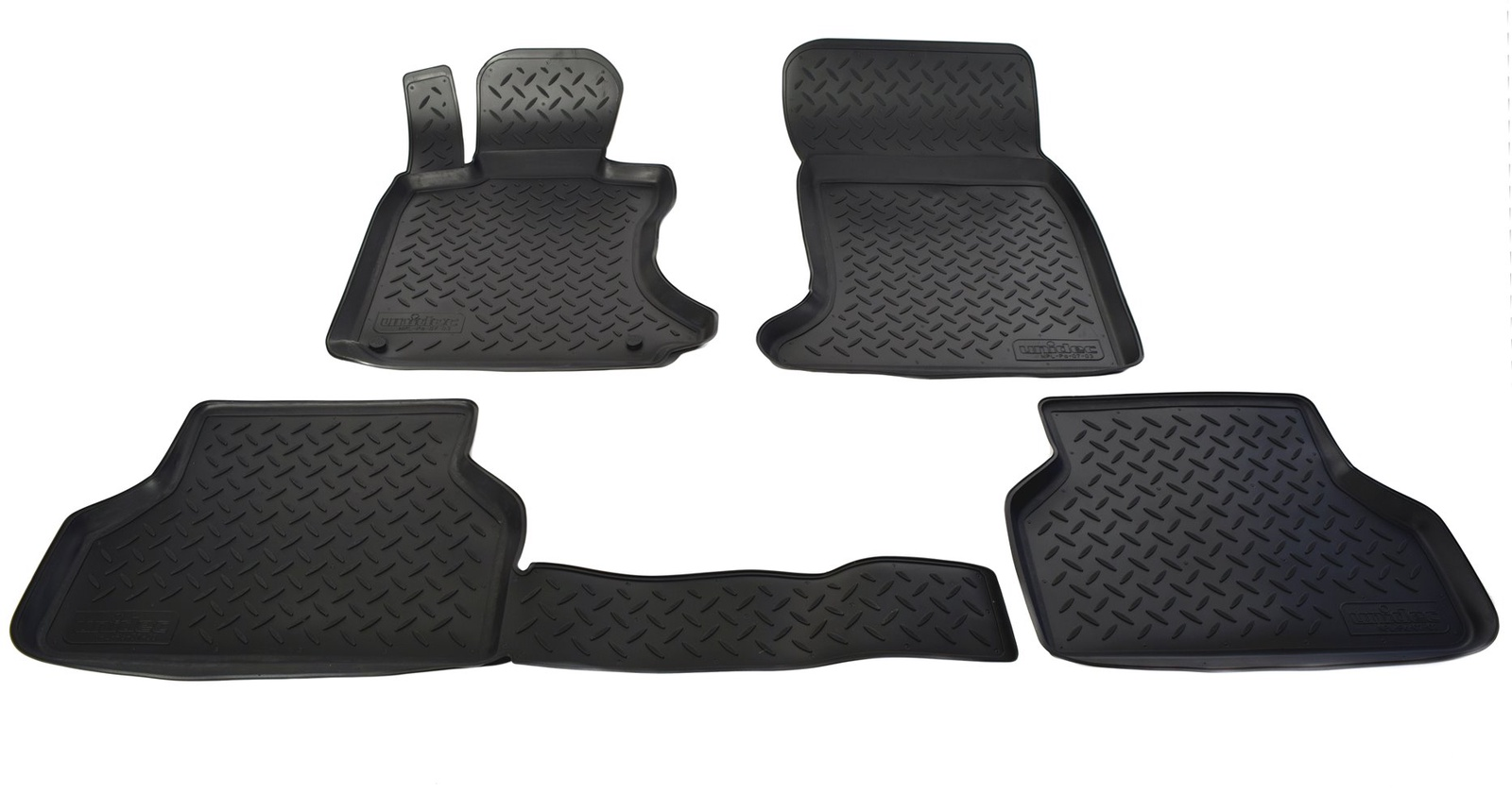 Коврики в салон автомобиля Norplast для BMW 5 E60 2003-2010, NPL-Po-07-03, черный rambach bmw 525d e61 197 л с