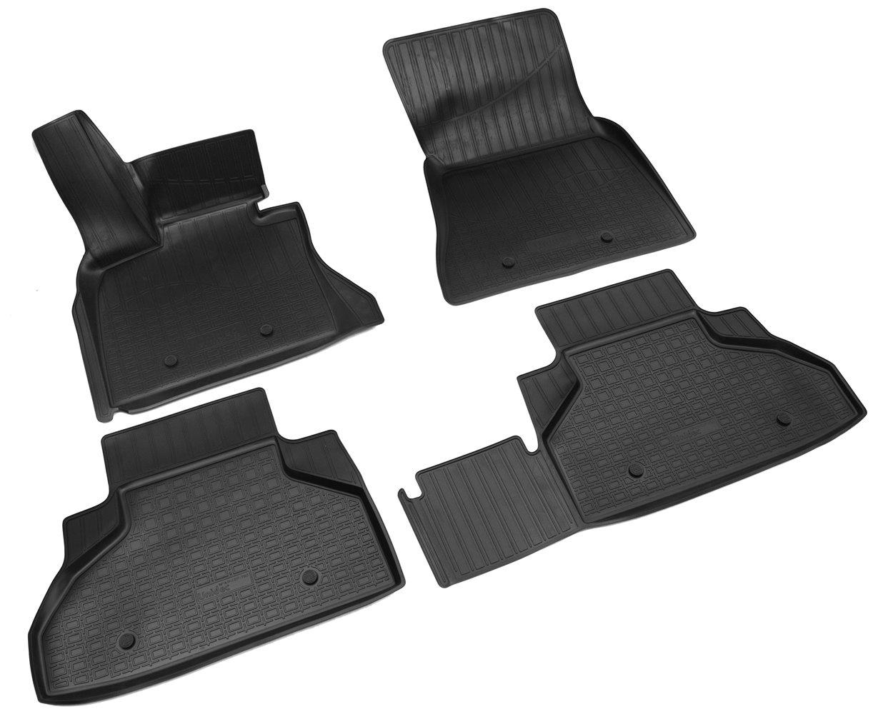 Коврики салона Norplast для bmw x6 (f16/ f86m) 3d (2014), npa11-c07-760, черный цена