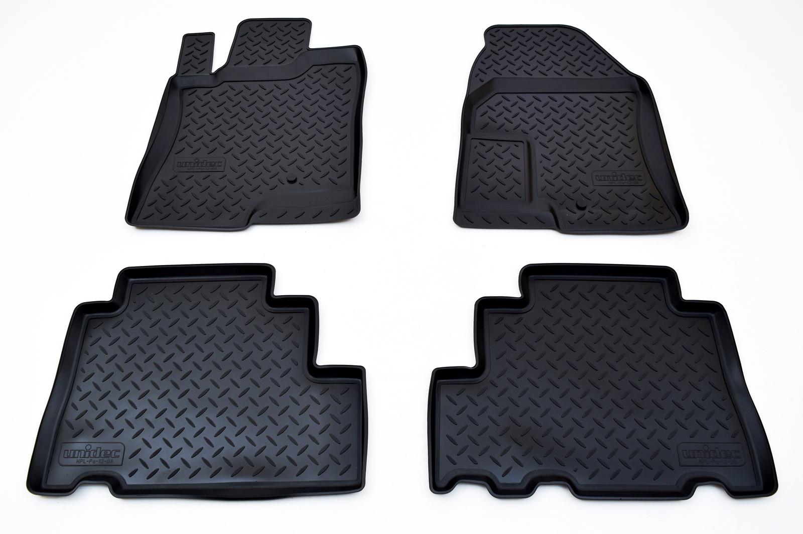 цена на Коврики салона Norplast для Chevrolet Captiva (2006-2012)\ Opel Antara (2007-2012), NPL-Po-12-08, черный