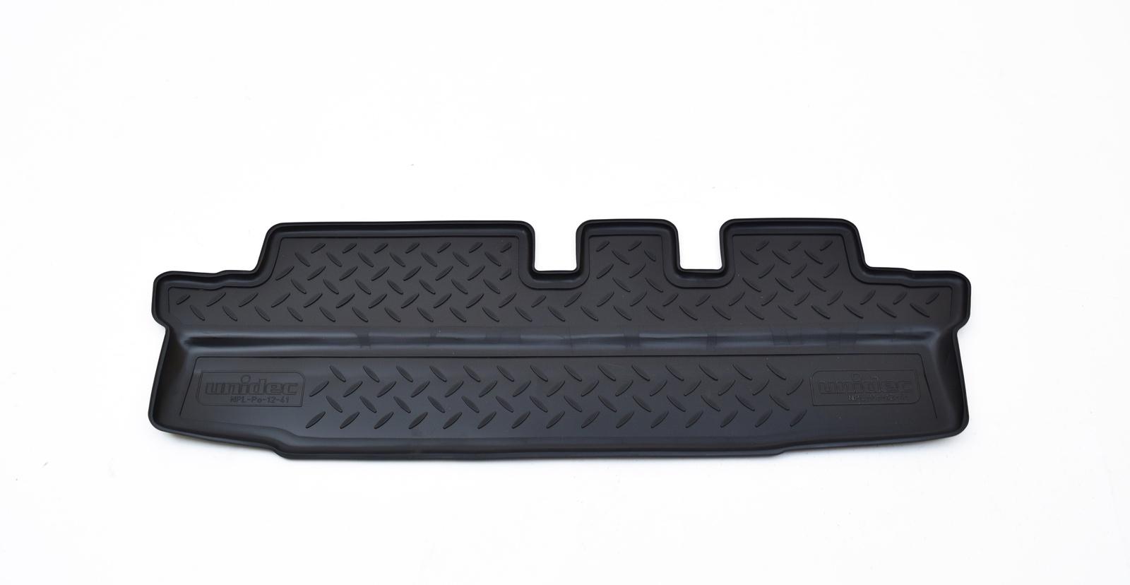 Коврики в салон Norplast для Chevrolet Orlando 2011 3 ряд, NPL-Po-12-41, черный