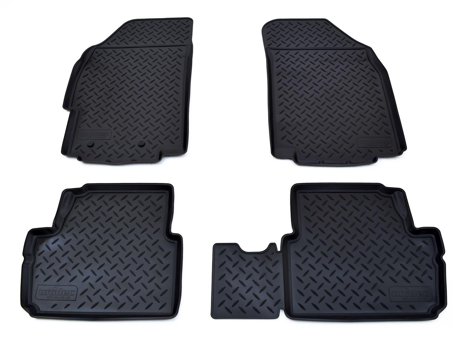 цена на Коврики в салон Norplast для Chevrolet Spark 2011, для Ravon R2 2016, NPL-Po-12-28, черный