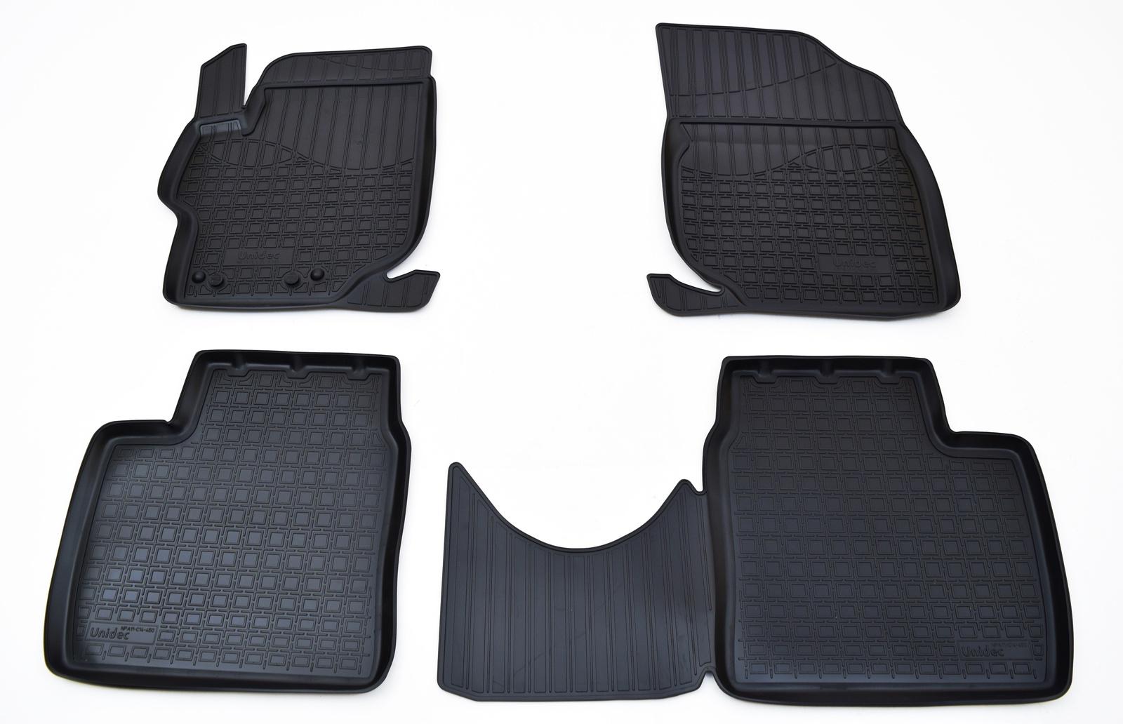 Коврики в салон Norplast для Citroen C-Elysee D, для Peugeot 301 2012, NPA11-C14-450, черный