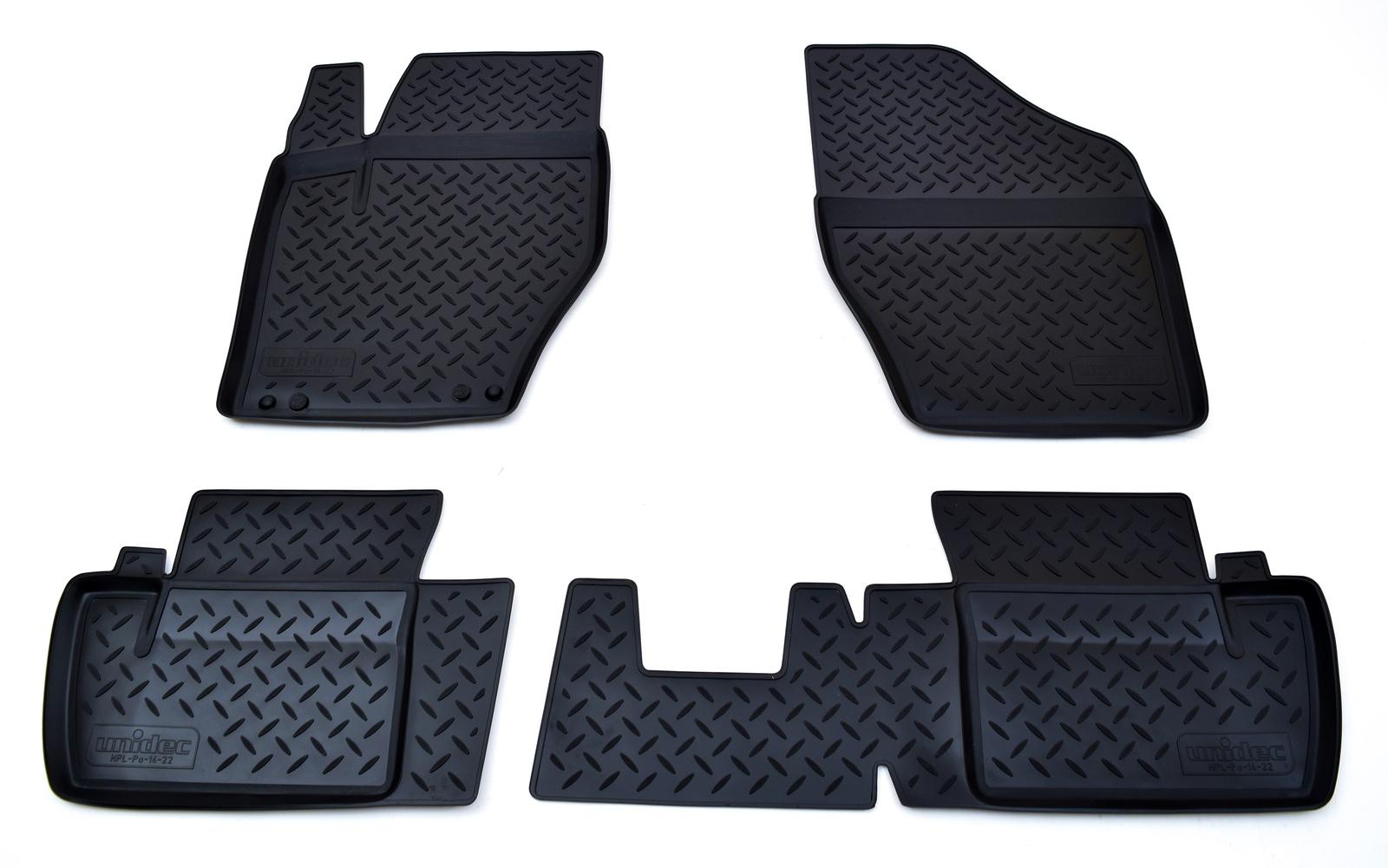 Коврики в салон Norplast для Citroen C4 N 2010, NPL-Po-14-22, черный все цены