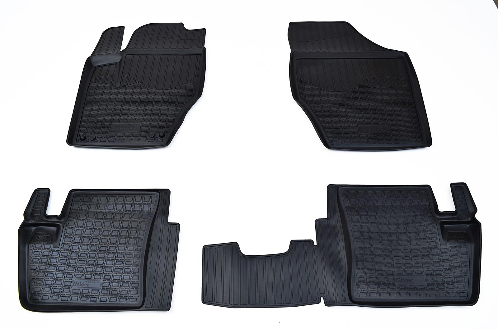 Коврики в салон Norplast для Citroen C4 N SD 2013, для Peugeot 408 2012, NPA11-C64-350, черный все цены