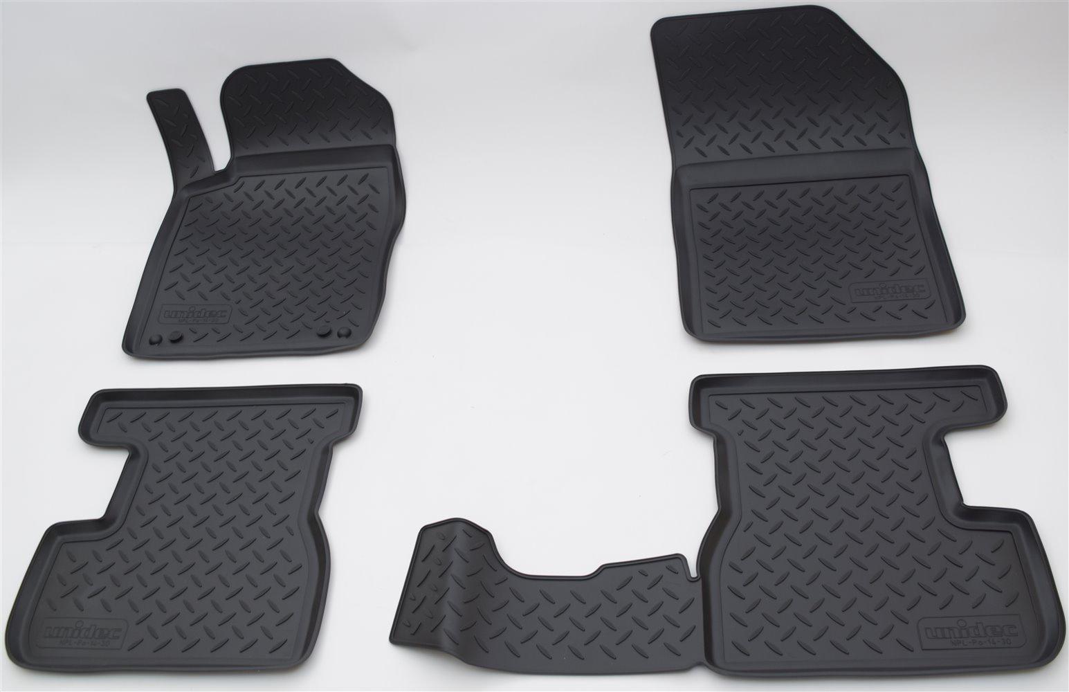 Коврики в салон Norplast для Citroen DS3 S 2010, NPL-Po-14-30, черный цена 2017