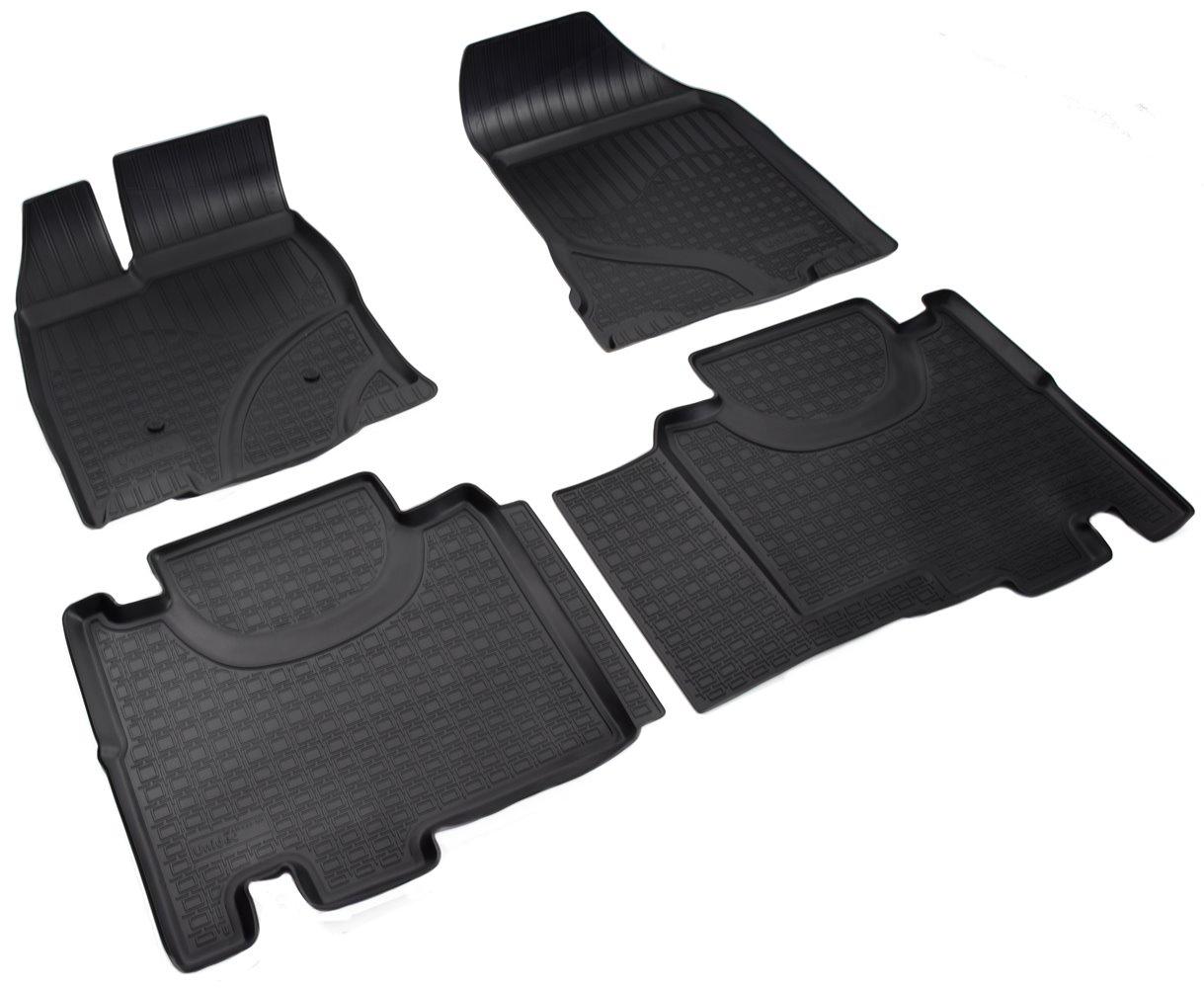 Коврики в салон Norplast для Ford Edge 2014, NPA11-C22-120, черный цена