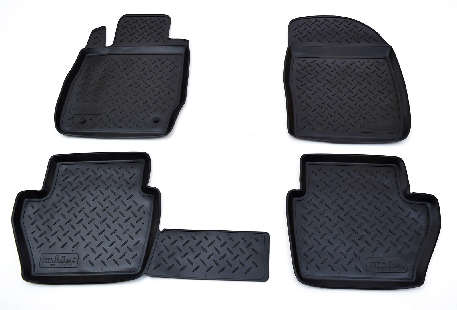 цена на Коврики в салон Norplast для Ford Fiesta JA8 2008, NPL-Po-22-61, черный