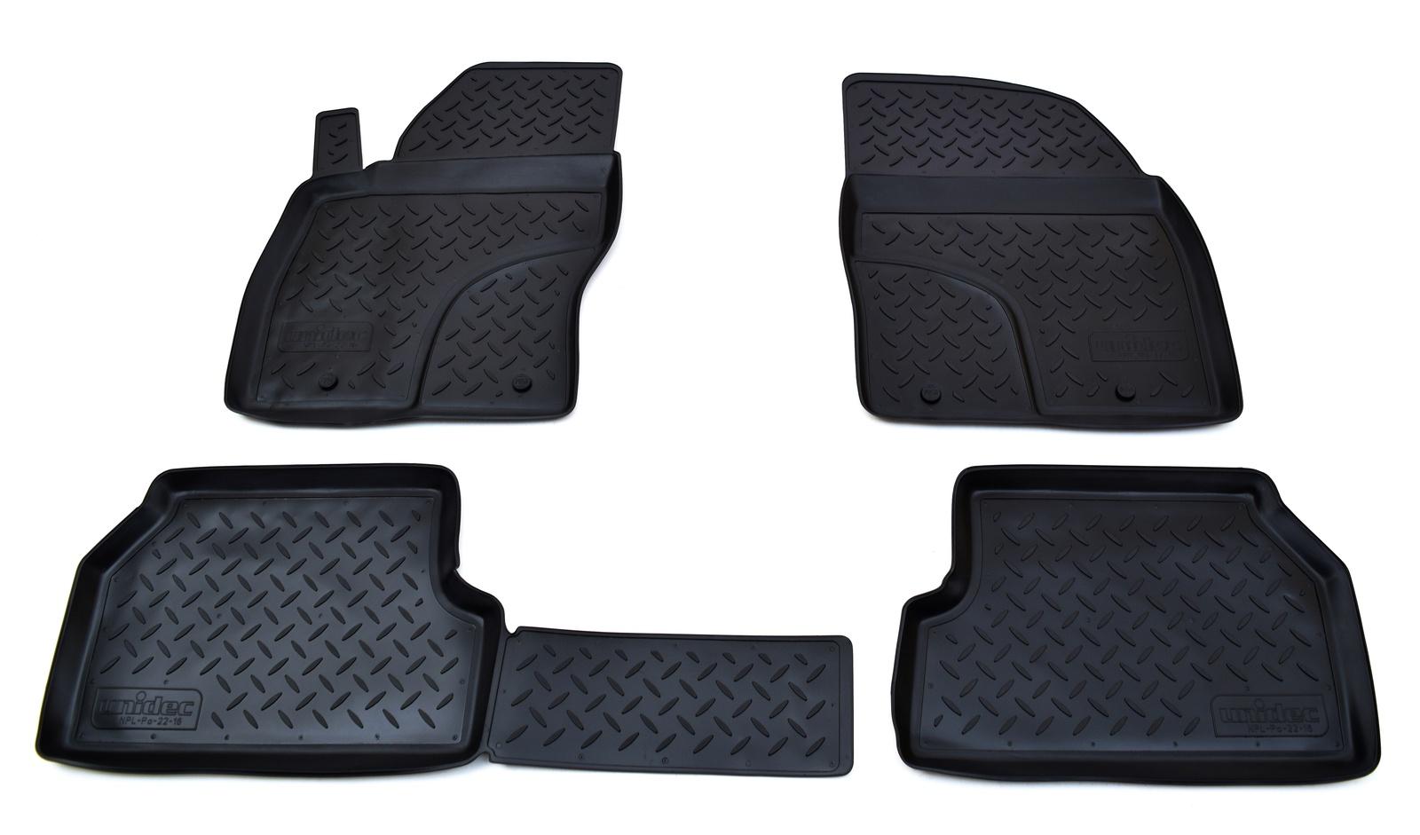 Коврики в салон Norplast для Ford Focus II 2008-2011, NPL-Po-22-16, черный renault thalia ii 2008