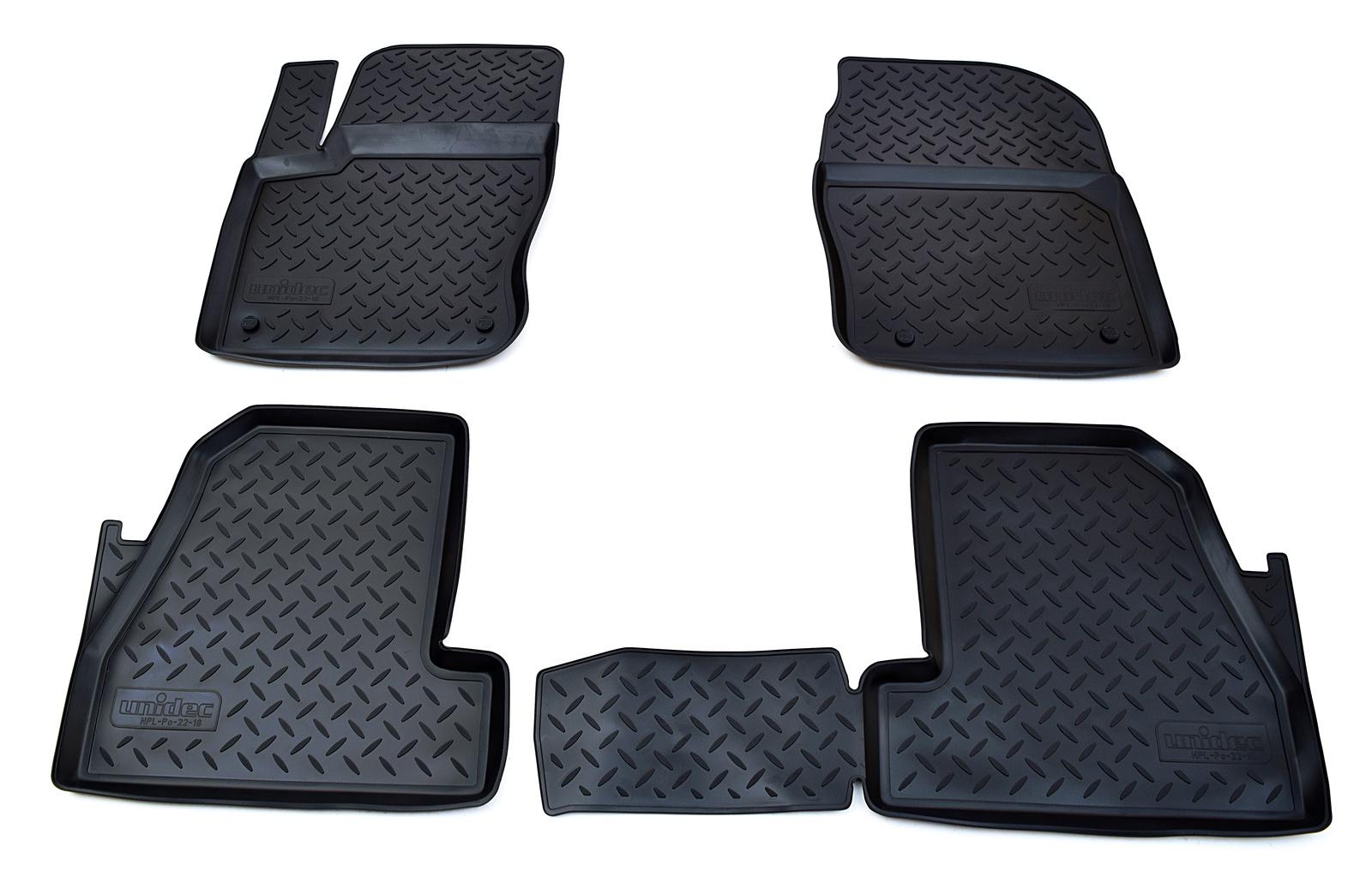 Коврики в салон Norplast для Ford Focus III 2011-2015, NPL-Po-22-18, черный автомагнитола ford focus