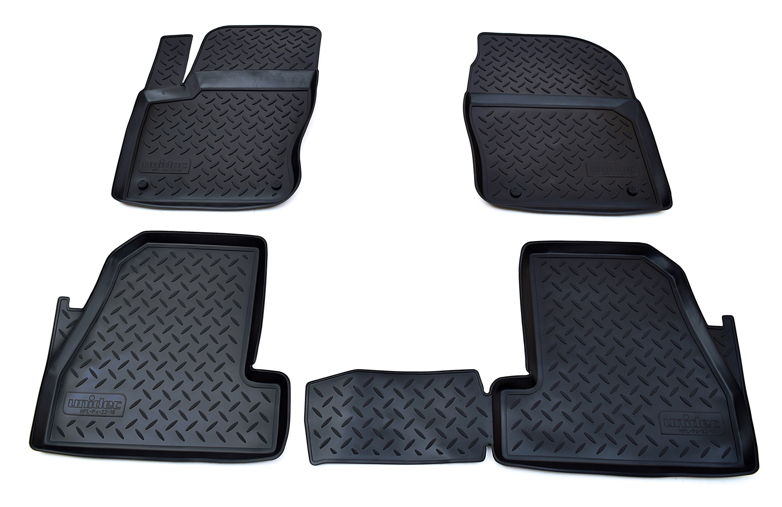 цена на Коврики в салон Norplast для Ford Focus III 2011-2015, NPL-Po-22-18, черный
