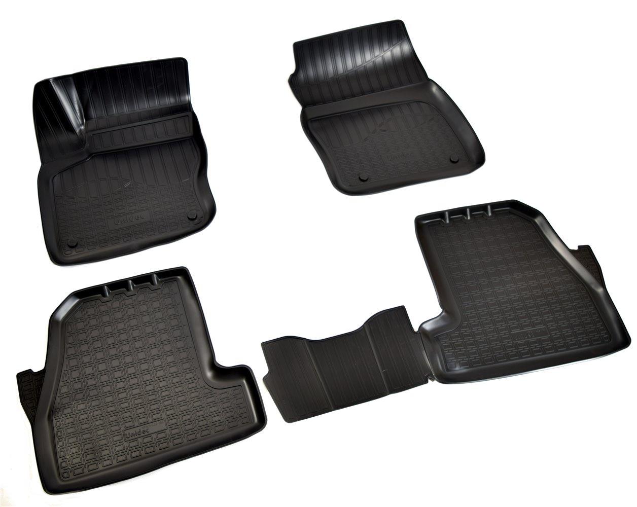 Коврики в салон Norplast для Ford Focus III 3D 2015, NPA11-C22-183, черный автомагнитола ford focus