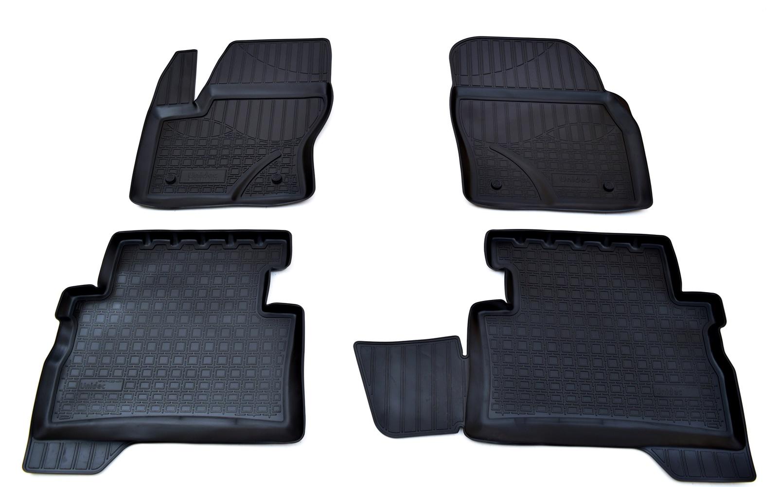 Коврики в салон Norplast для Ford Kuga 3D 2013, NPA11-C22-400, черный диск magnetto ford kuga 7 5xr17 5x108 et52 5 d63 3 black 17001 am