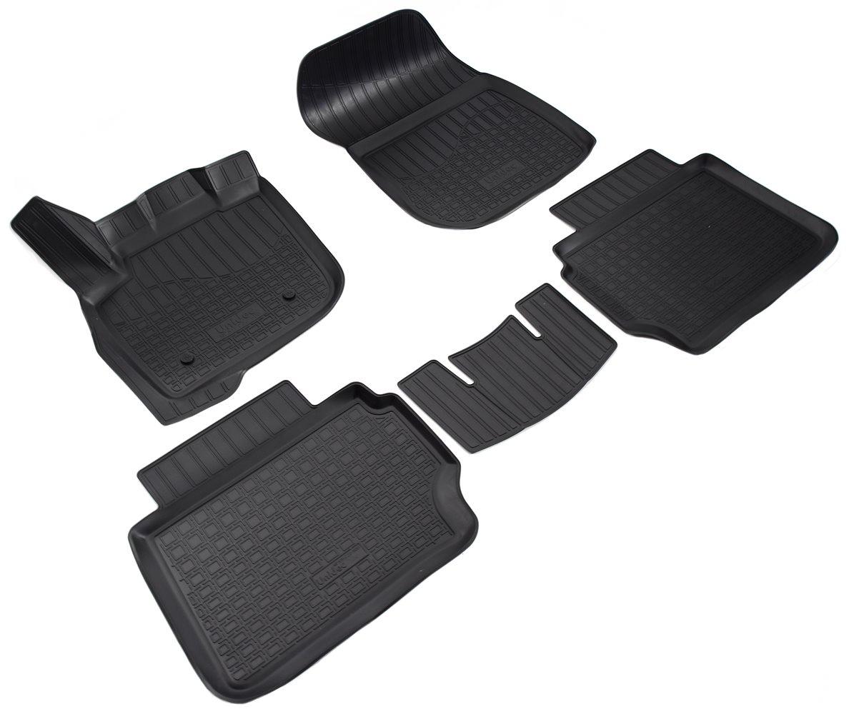Коврики в салон Norplast для Ford Mondeo V 3D 2015, для Ford Fusion III 3D 2012, NPA11-C22-500, черный видеорегистратор в штатное место redpower dvr fod3 n для ford mondeo v 2014