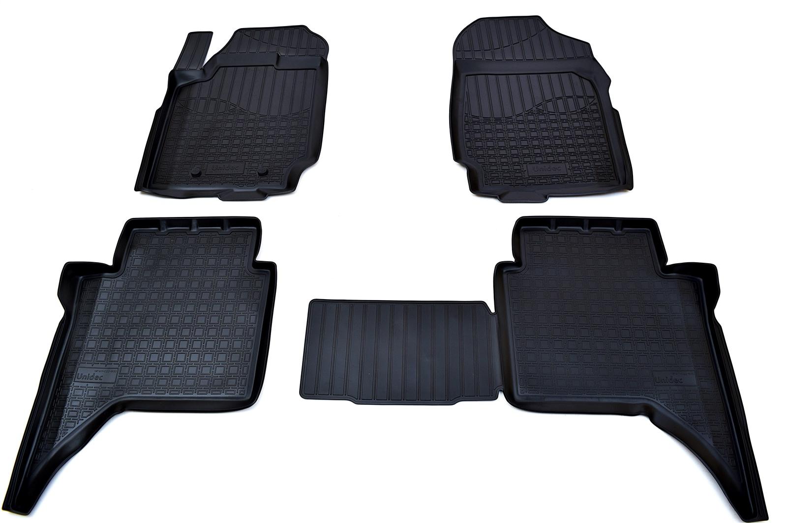 Коврики в салон Norplast для Ford Ranger Double Cab 2011, NPA11-C22-600, черный недорго, оригинальная цена