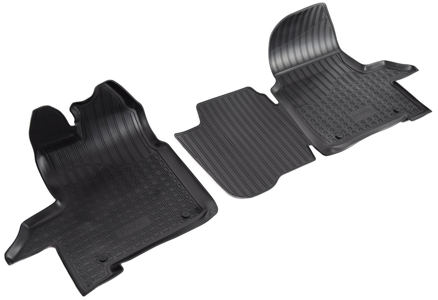 Коврики в салон Norplast для Ford Transit 2014 ппередние, NPA11-C22-730, черный