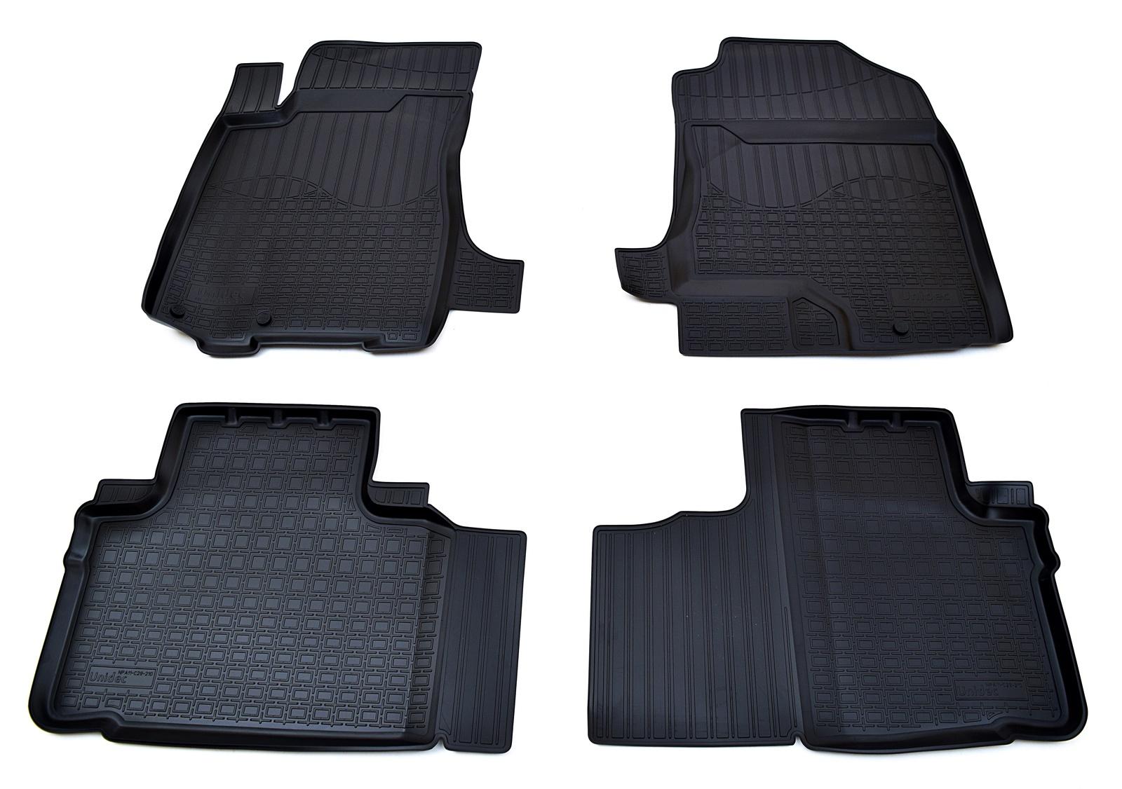 цена на Коврики в салон Norplast для Great Wall Hover H6 2012, NPA11-C29-210, черный