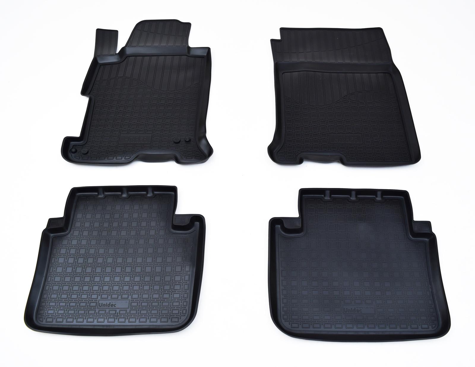 Коврики в салон Norplast для Honda Accord IX 2013, NPA10-C30-010, черный