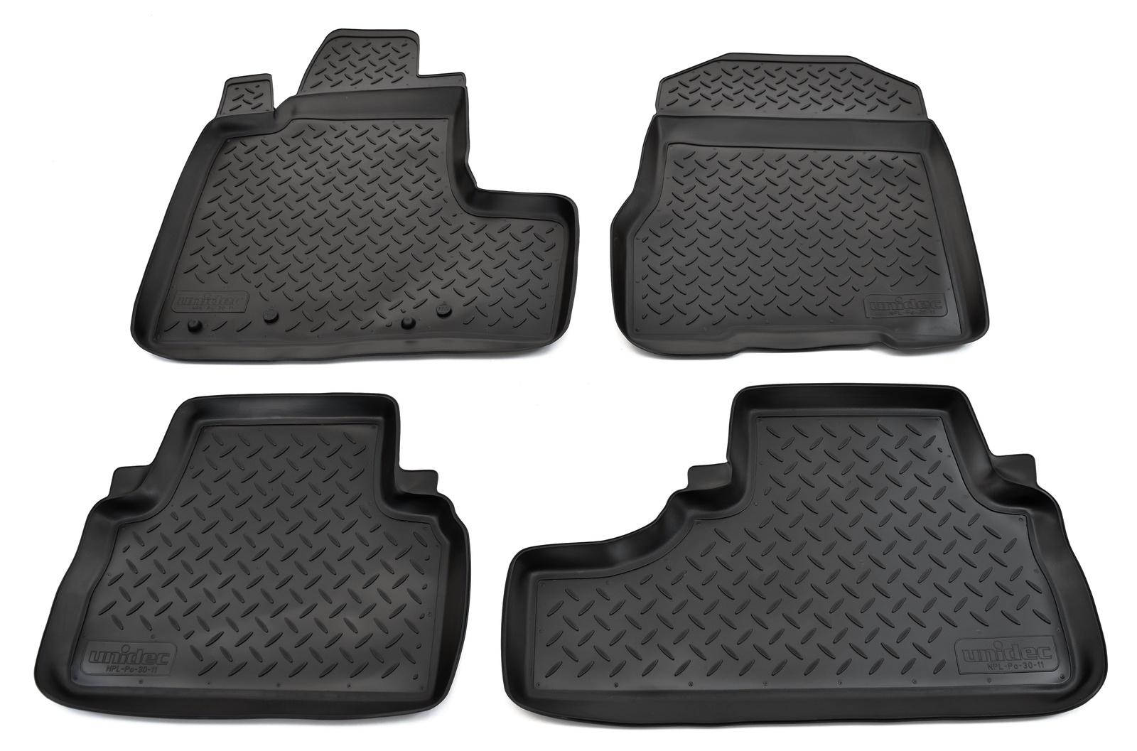 Коврики в салон Norplast для Honda CR-V RE5 2006-2012, NPL-Po-30-11, черный