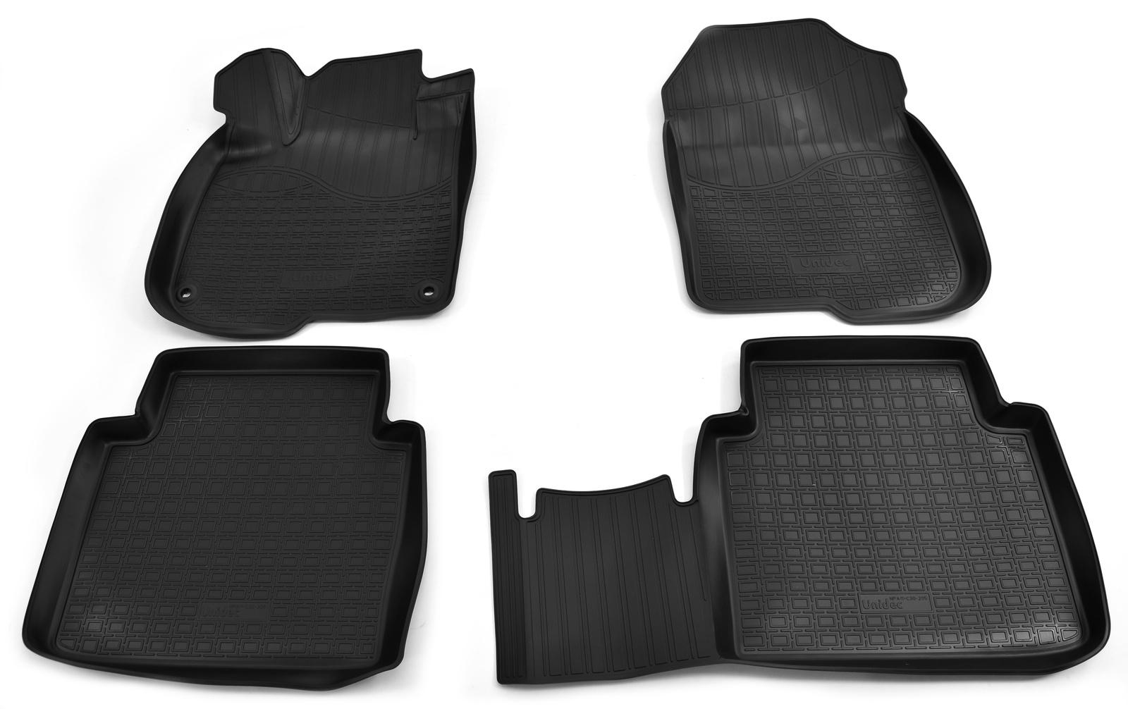 Коврики в салон Norplast для Honda CR-V V 3D 2017, NPA11-C30-205, черный
