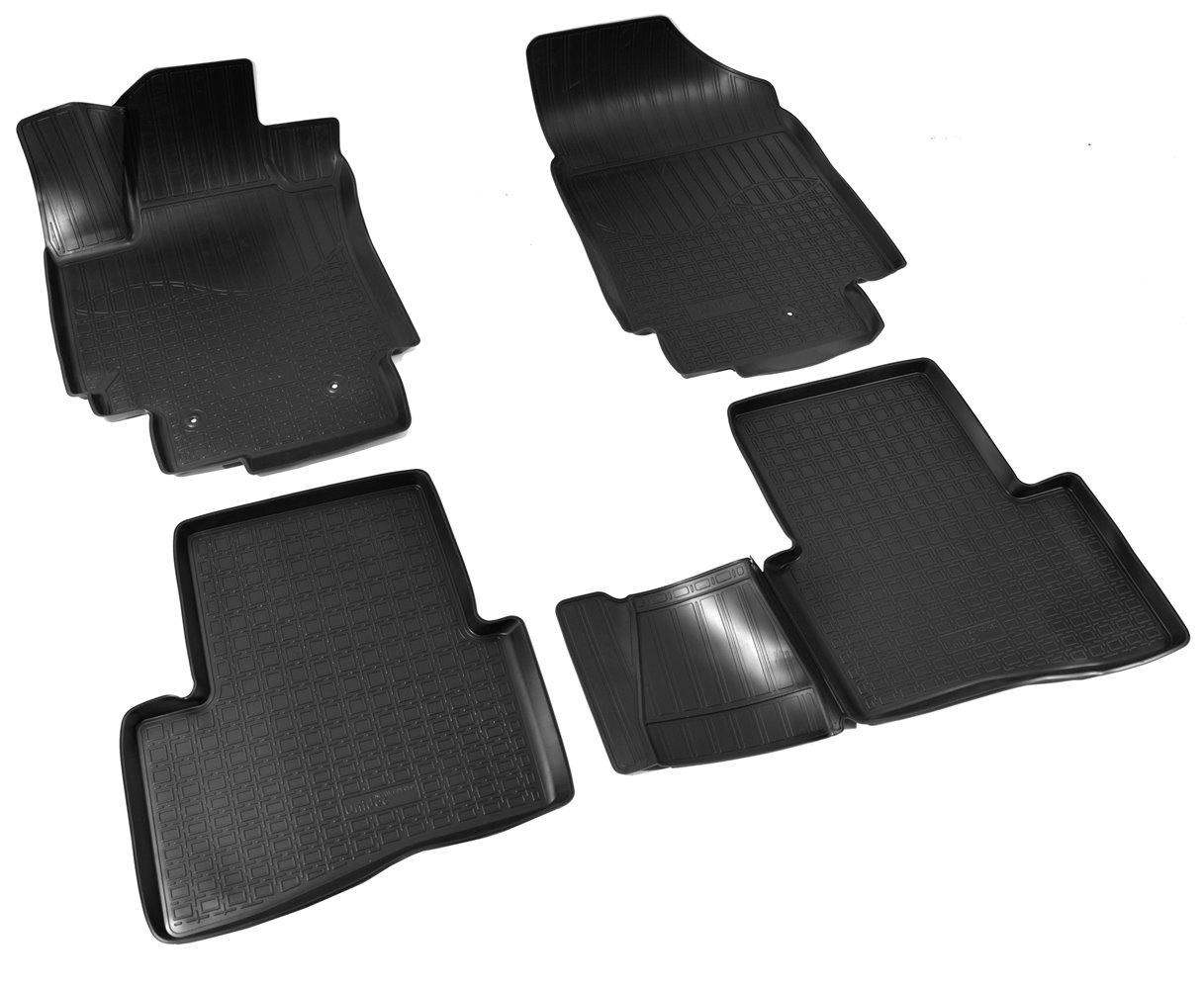 Коврики в салон Norplast для Hyundai Creta 3D 2016 , NPA11-C31-050, черный накладки на пороги rival для hyundai creta 2016 н в нерж сталь с надписью 4 шт np 2310 1