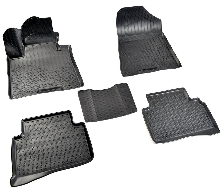 купить Коврики салона Norplast для Hyundai Tucson (TL) 3D (2015-), NPA11-C31-560, черный по цене 1690 рублей