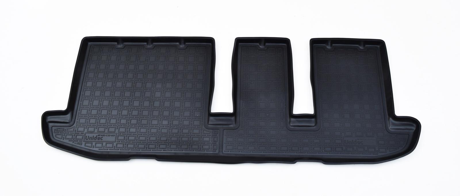 Коврики салона Norplast для Infiniti JX (L50) (2012) (3 ряд)/ Infiniti QX60 (L50) (2013) (3 ряд), NPA00-C33-601, черный 2013 2014 infiniti jx35 jx qx60 alloy engine skid plate engine protection plate