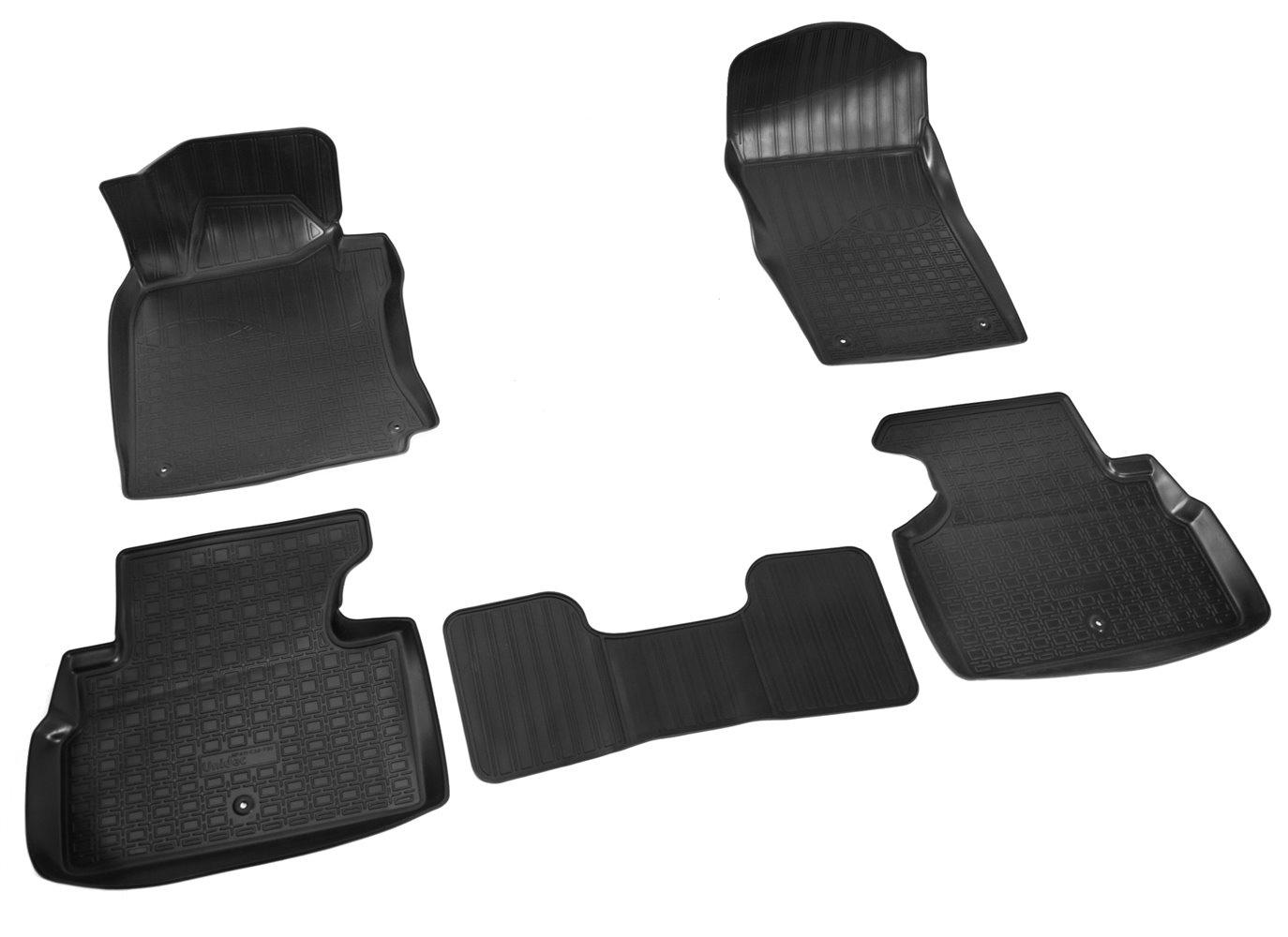 купить Коврики в салон автомобиля Norplast для Infiniti Q50 (V37) 3D (2013), NPA11-C33-730, черный по цене 1890 рублей