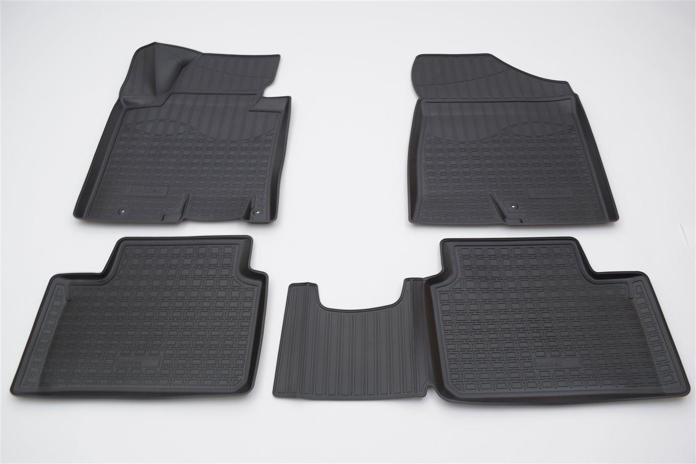 лучшая цена Коврики в салон автомобиля Norplast для Kia Cee'd (JD) 3D (2012)\ Kia Pro Cee'd (JD) 3D (2012)\ Kia Cee'd SW (JD) 3D (2012), NPA11-C43-053, черный