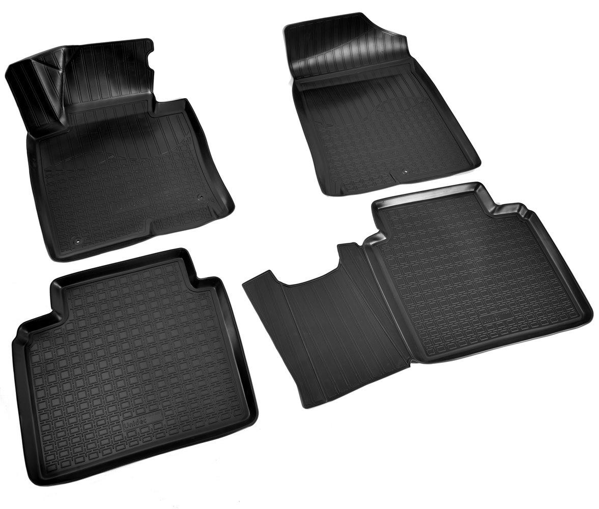 Коврики в салон автомобиля Norplast для Kia Optima (JF) 3D (2016), NPA11-C43-265, черный kia optima