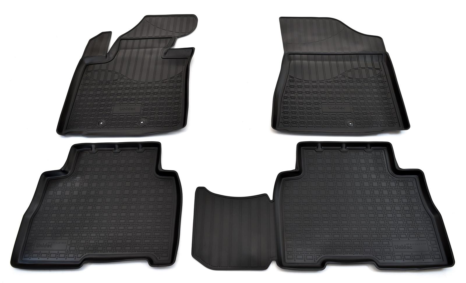 цена на Коврики в салон автомобиля Norplast для Kia Sorento (XM FL) (2012), NPA11-C43-650, черный