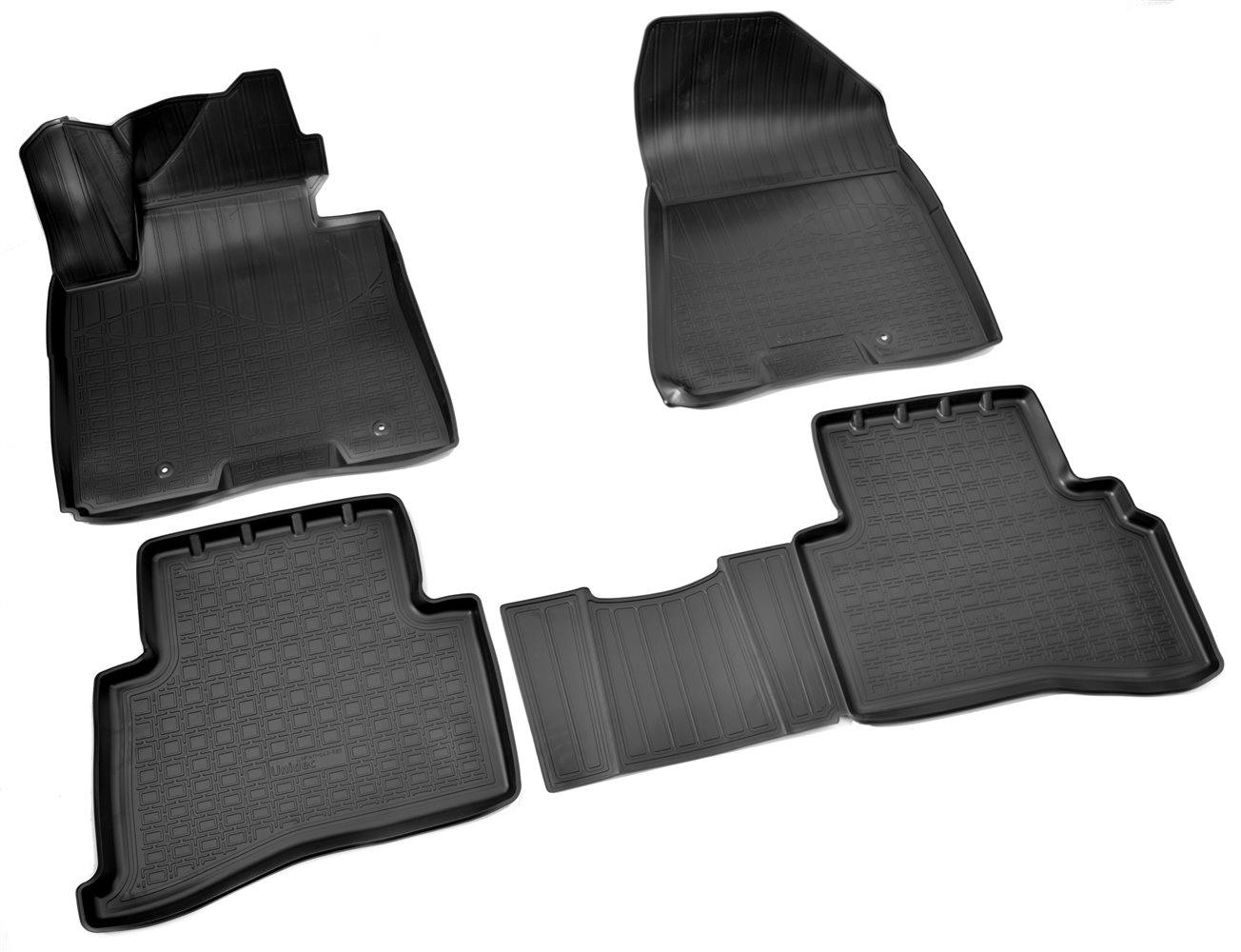Коврики в салон автомобиля Norplast для Kia Sportage (QL) 3D (2016), NPA11-C43-525, черный фен kia