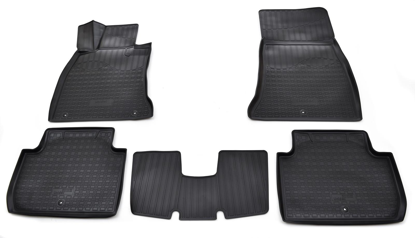 Коврики в салон автомобиля Norplast для Kia Stinger 2WD 3D (2017-), NPA11-C43-832, черный