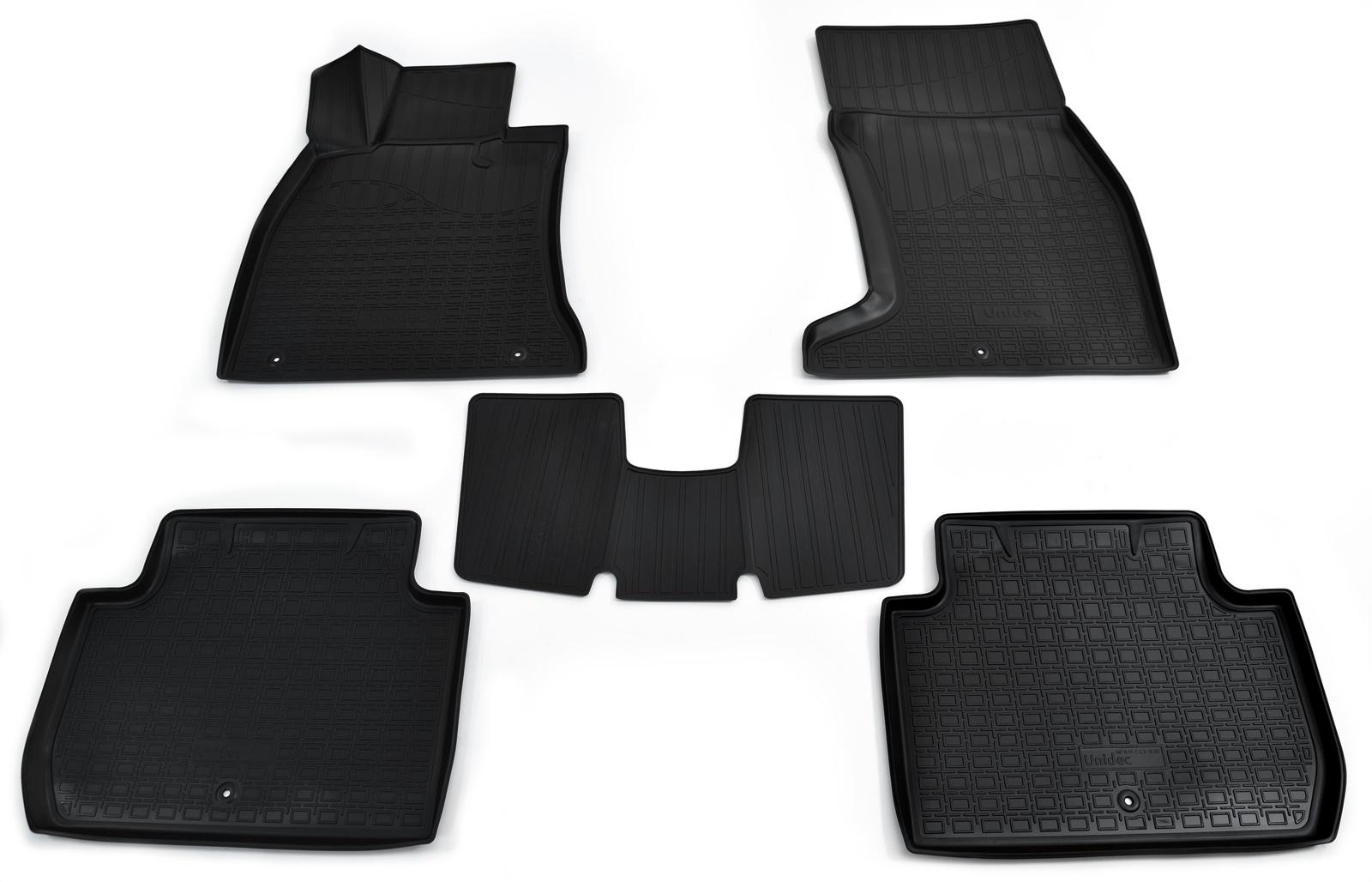 Коврики в салон автомобиля Norplast для Kia Stinger 4WD 3D (2017-), NPA11-C43-830, черный stinger s300