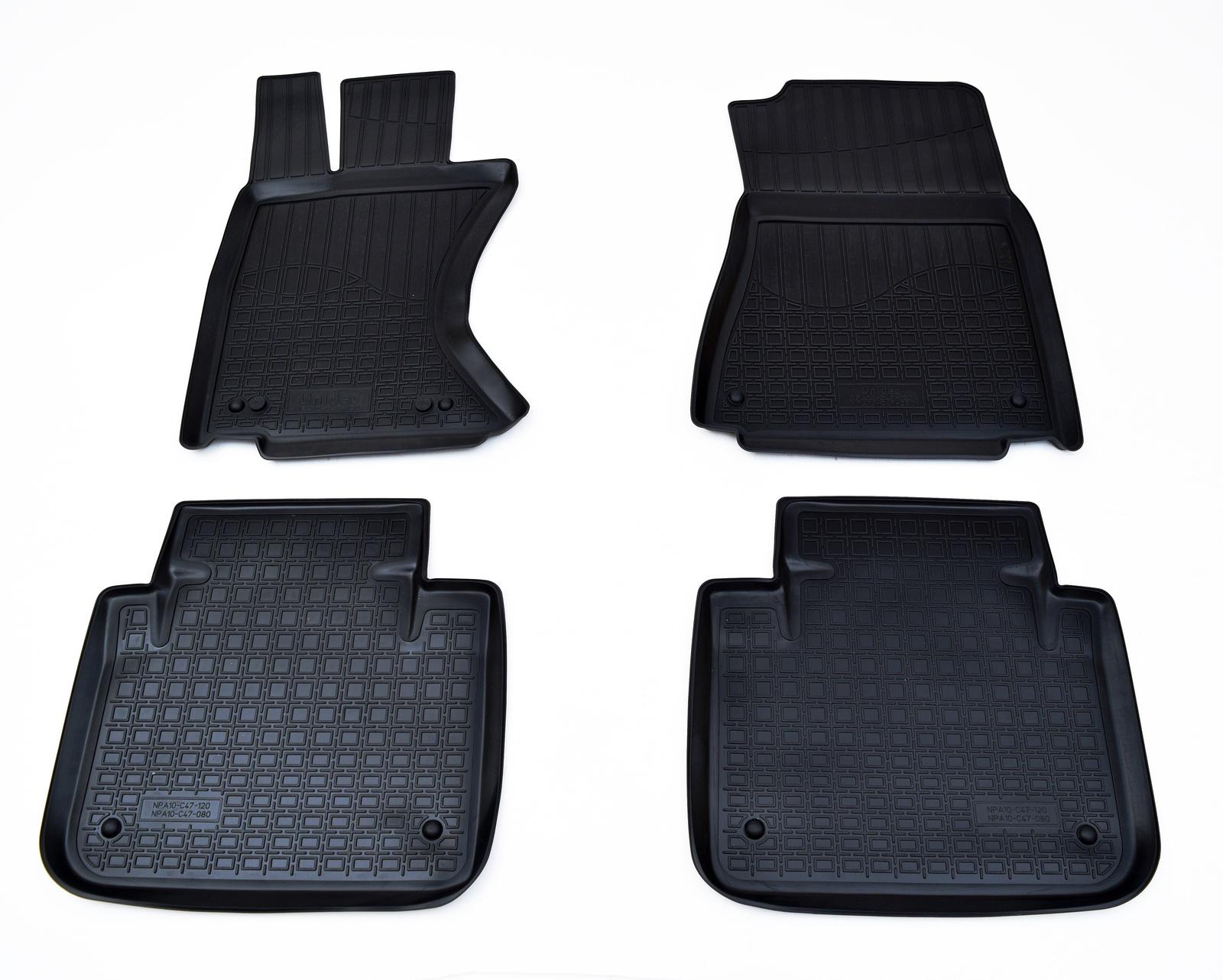 Коврики в салон автомобиля Norplast для Lexus GS AWD (L10A) (2012), NPA10-C47-120, черный