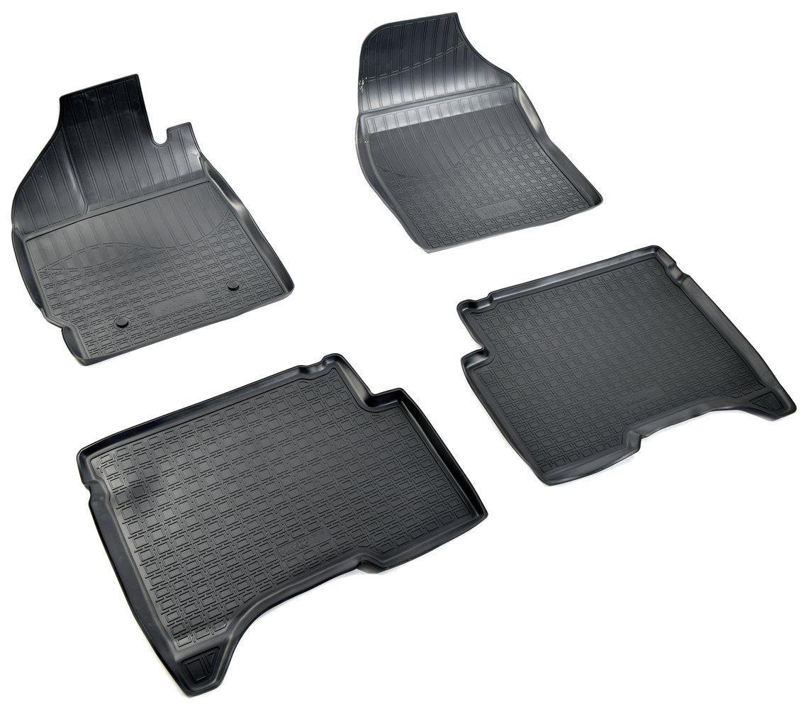 Коврики в салон автомобиля Norplast для Lifan X50 3D (2015), NPA10-C51-750, черный запчасти lifan x50