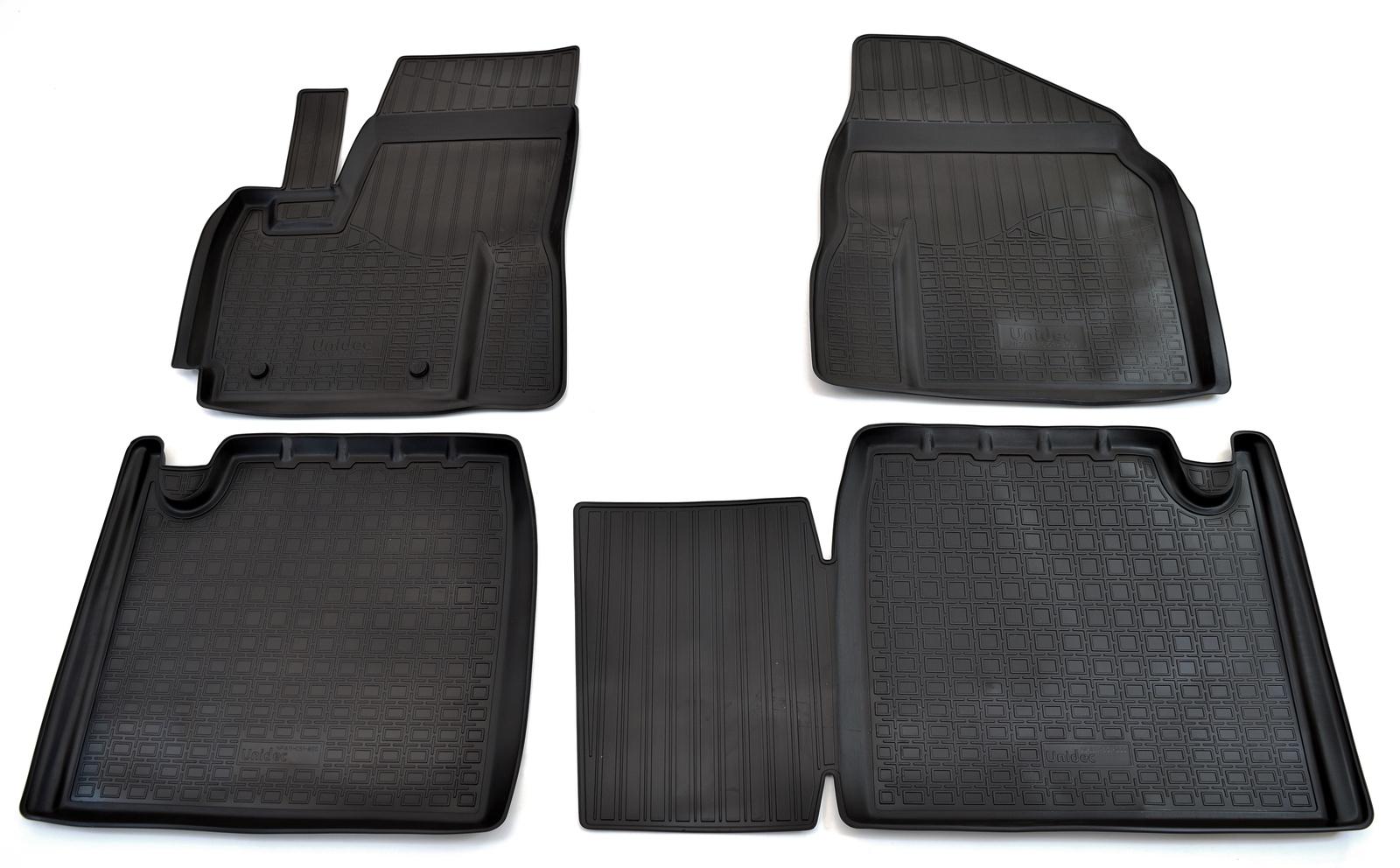 Коврики в салон автомобиля Norplast для Lifan X60 (2011), NPA11-C51-800, черный цены
