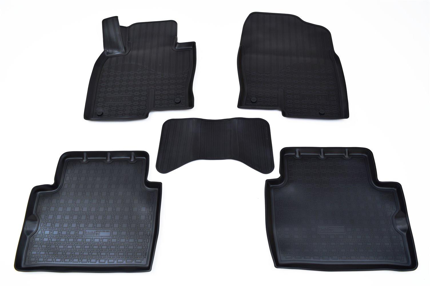 купить Коврики в салон автомобиля Norplast для Mazda CX-5 3D (2017), NPA11-C55-683, черный по цене 1690 рублей